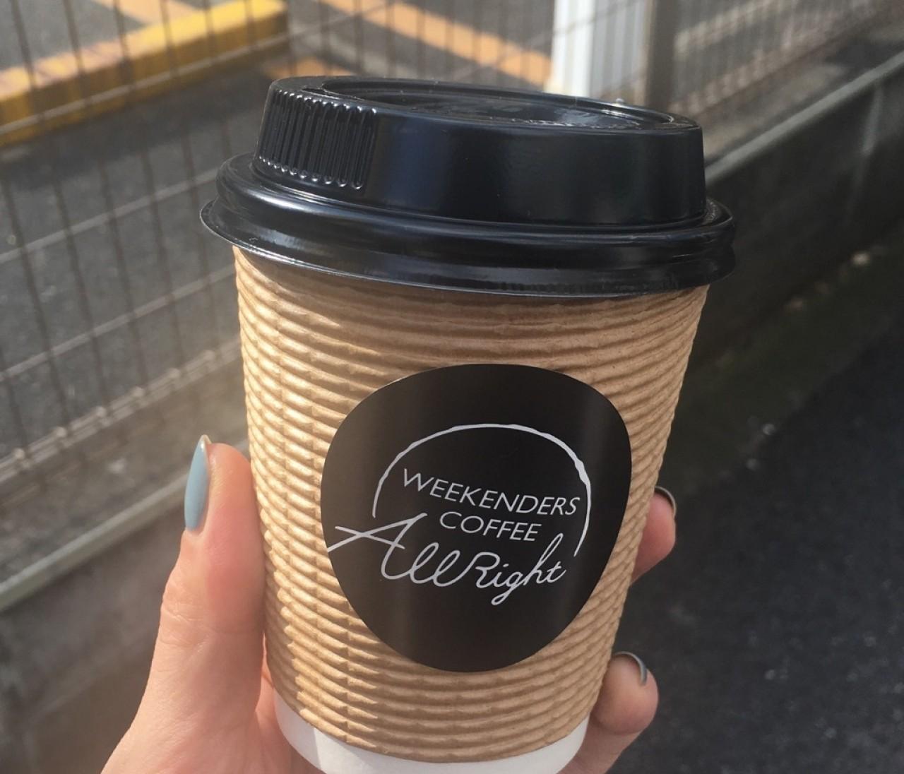 東京珈琲が楽しい!その1【神楽坂・WEEKENDERS COFFEE All Right】