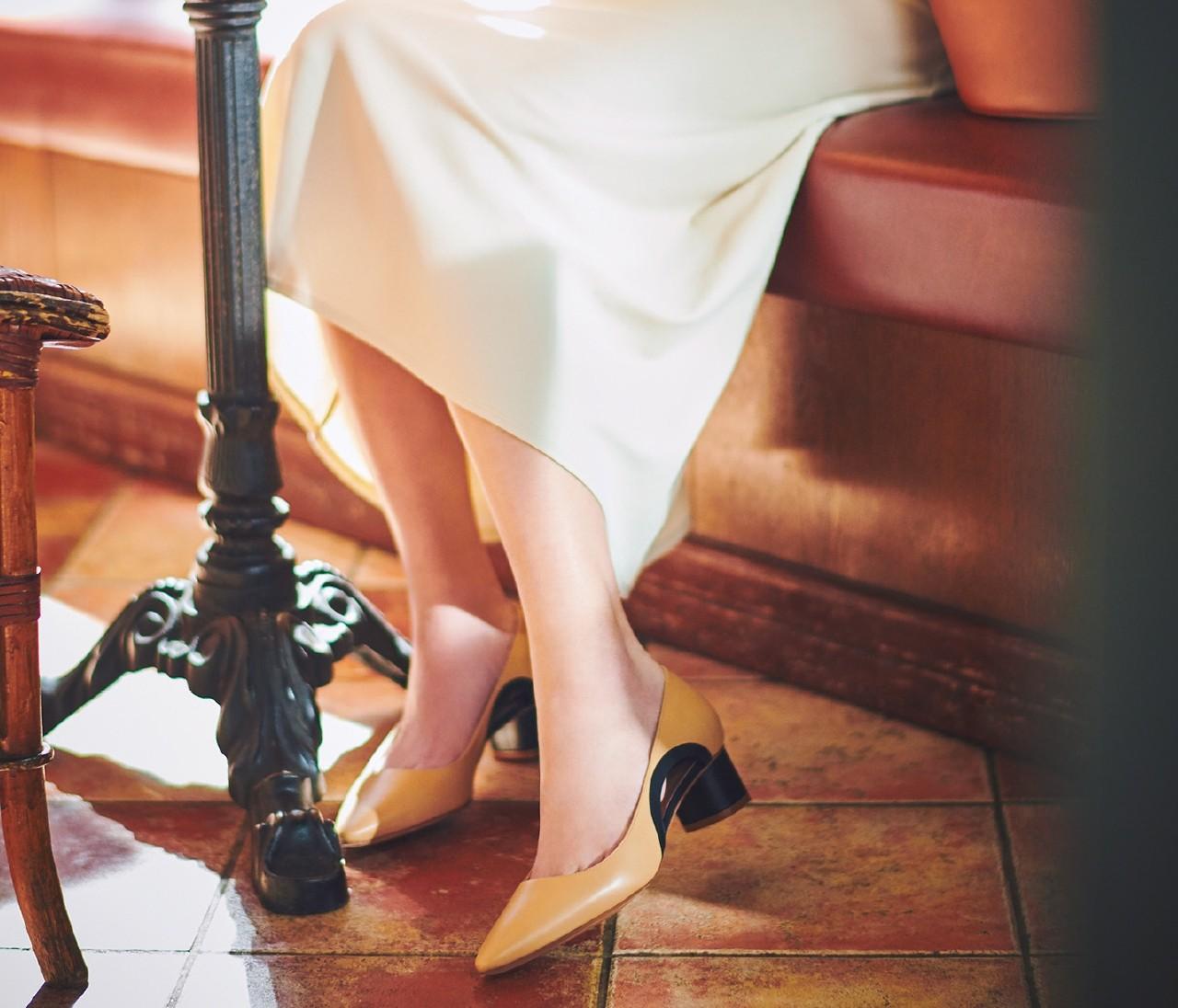 【2020春パンプス】脚線美&モダンの最高峰「ペリーコ」のパンプス
