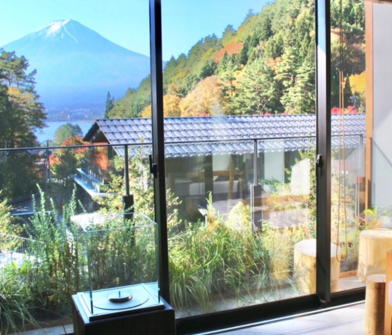 【GoTo】部屋から富士山♡森の中の隠れ家ホテルで贅沢stay
