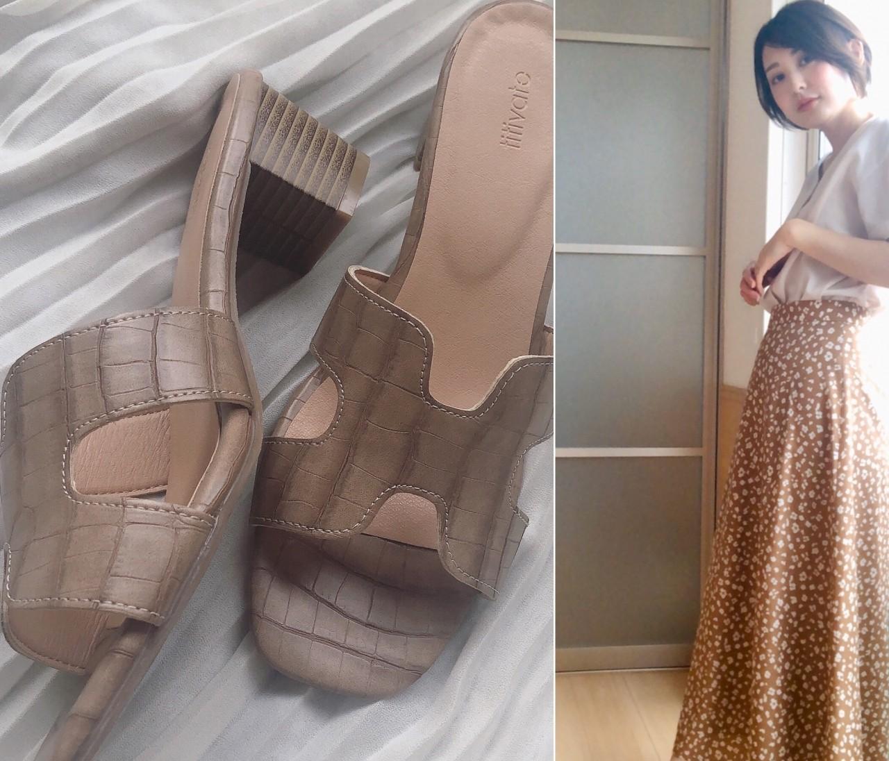 【¥3,500以下】おうちでポチッ♪足元映えなtitivateのフラット靴&サンダル