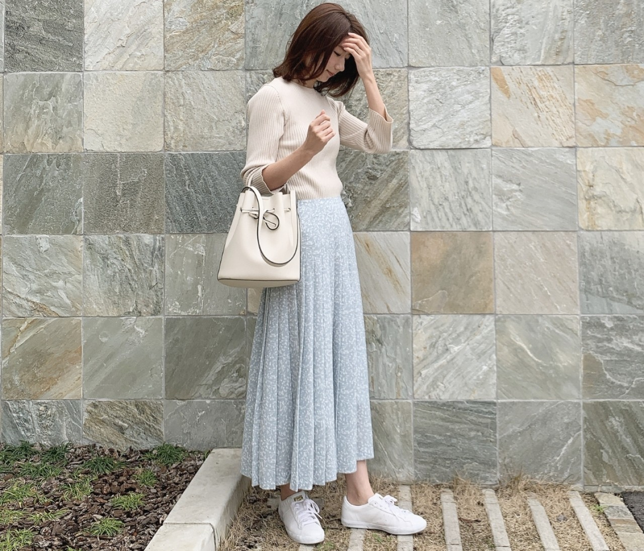 【春コーデ】ロンハーマンのお気に入りスカート