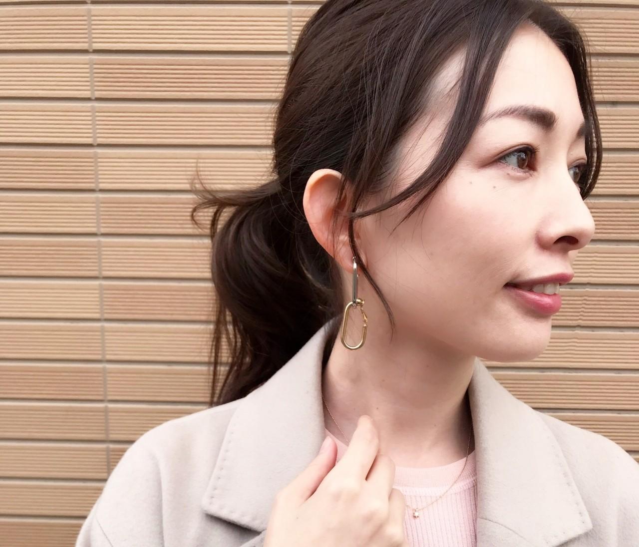 【銘品】theory 桜ピンクニット