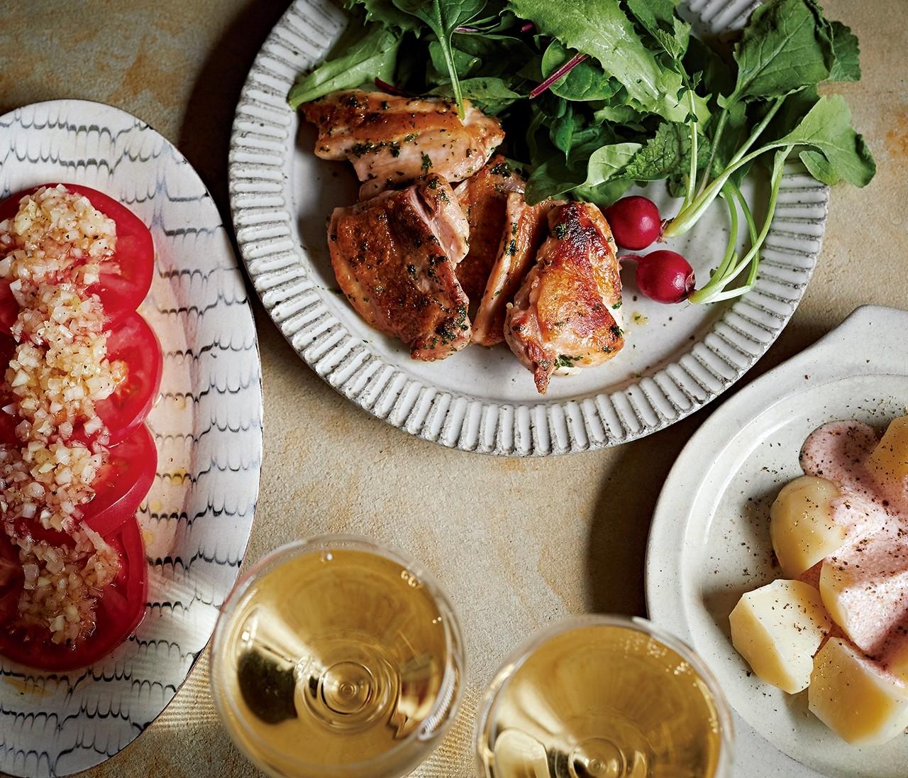 簡単&映える! 白ワインに合うサラダとおつまみ3品【おいしい家飲み⑤】