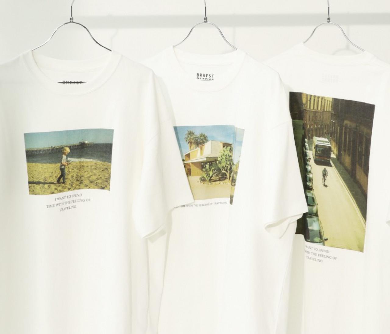 大人カジュアルにぴったり!気持ちいい旅のムードを運んでくるフォトTシャツ【30代に幸せをくれるものvol.25】