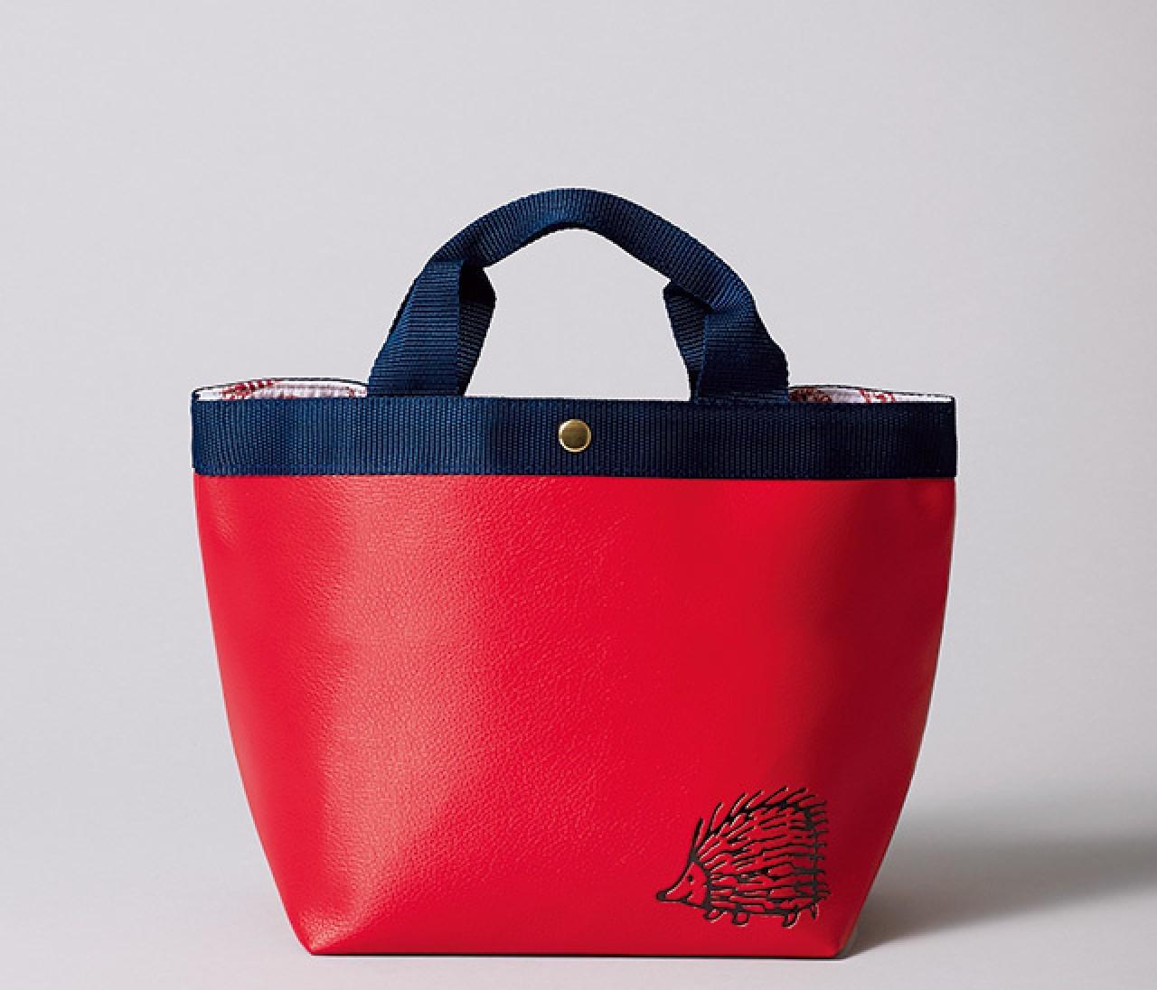 【はりねずみ動画】BAILA10月号特別付録は「リサ・ラーソン」のトートバッグ。ハリネズミくんも動画で共演!