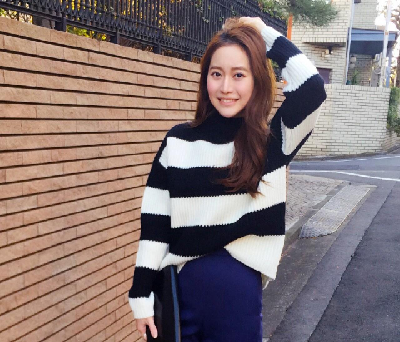 【スーパーバイラーズの #女っポイントデニム #OOTD】3/1(火)・黄 冠臻さん