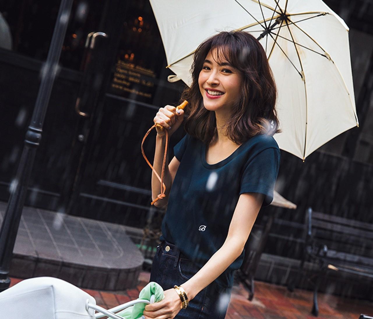 雨の日デートは、カジュアルでリラクシーなワントーンスタイル♡【2019/6/23のコーデ】