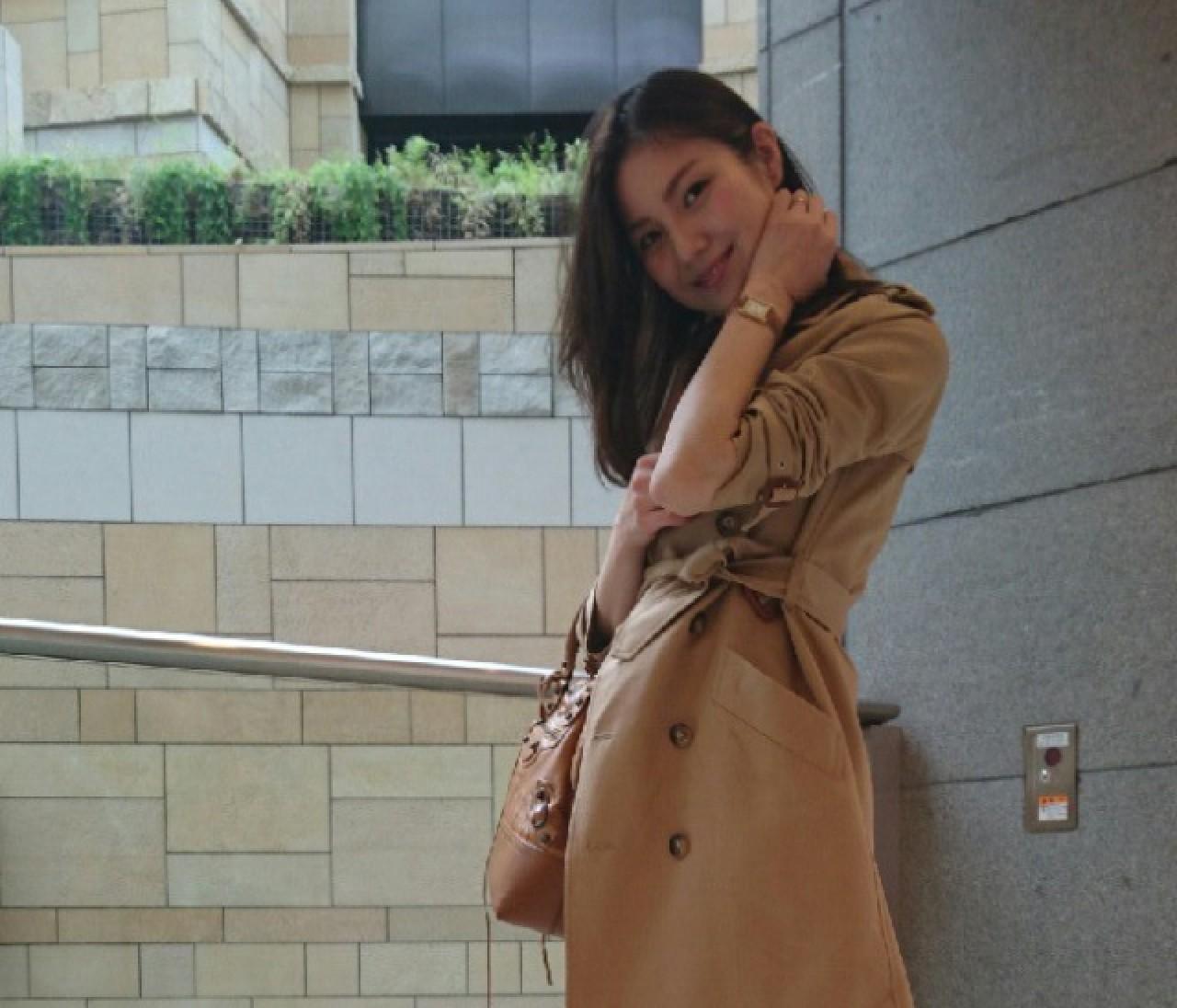 【#ときめきトレンチ #OOTD】高橋絵美さん
