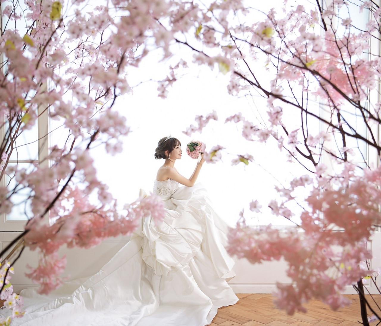 《WeddingPhoto》韓国気分でウェディング撮影を♡