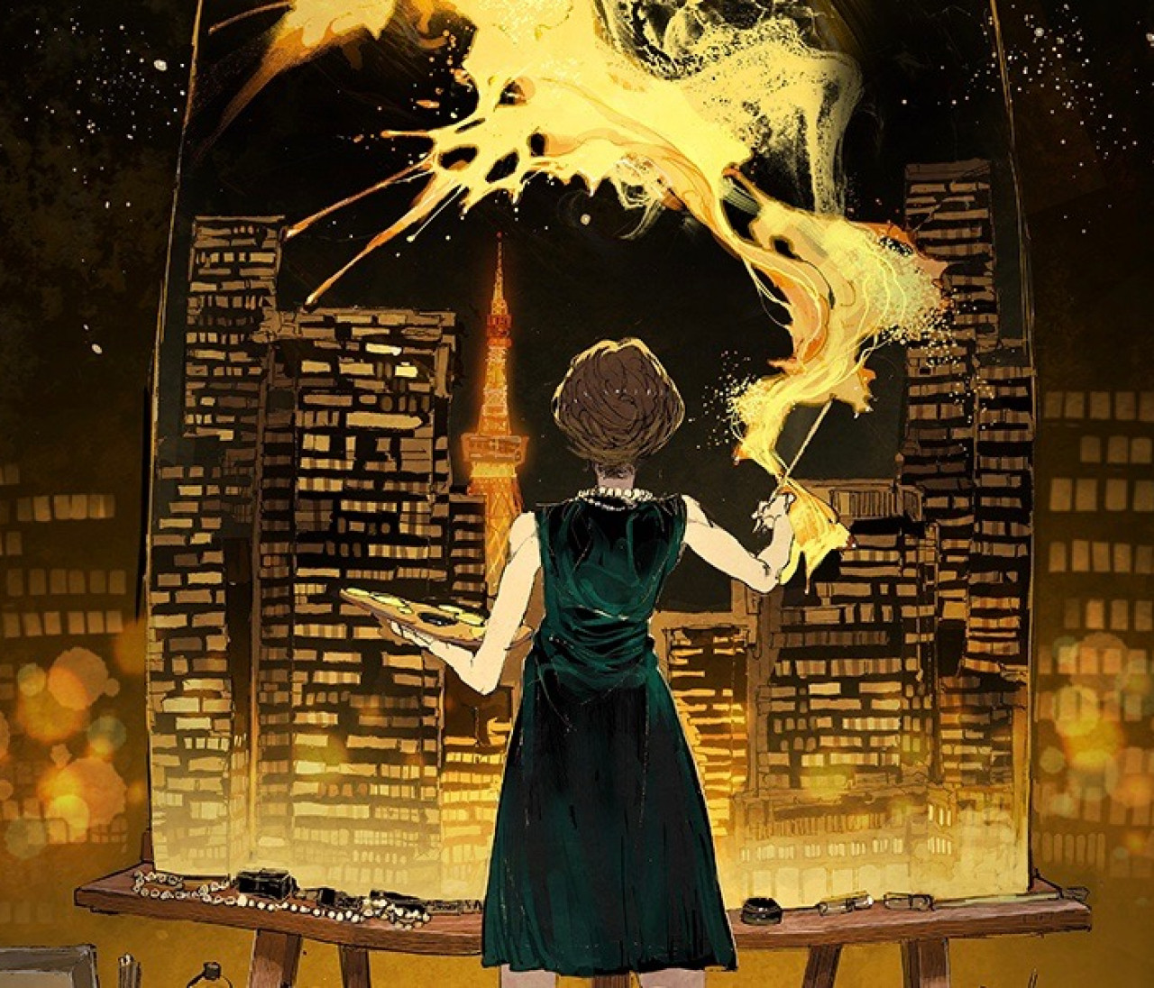 【『約束のネバーランド』の作家が描くシャネルの世界】「週刊少年ジャンプ」の人気作家と、シャネルが奇跡のコラボレーション。コミック発売&展覧会の開催も!