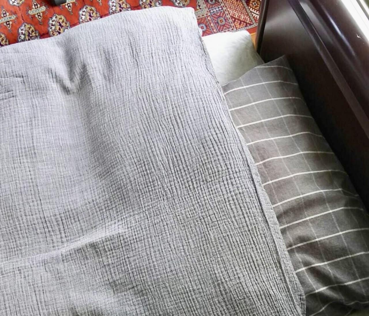 安眠促進!【無印良品】綿三重ガーゼ掛布団カバーで寝苦しい夏の夜にさようなら〜♡