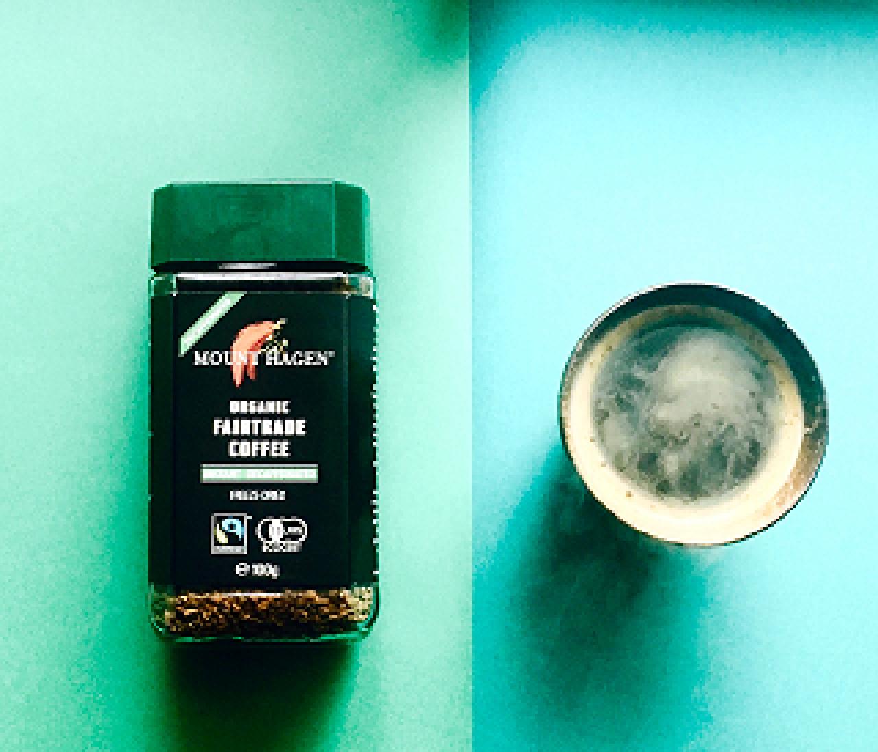 手軽にカフェインレス!コーヒー好きの救世主発見!