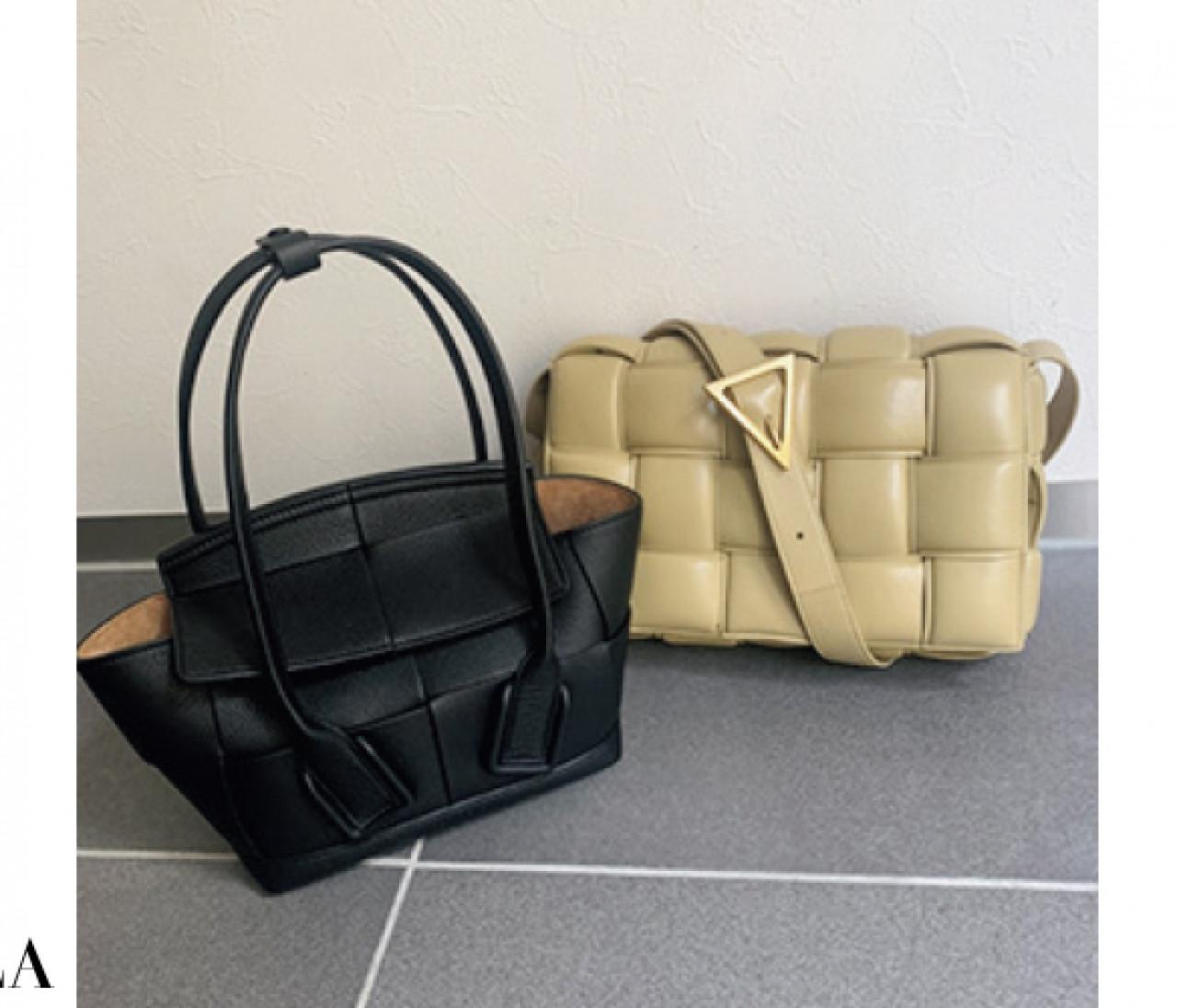 【ボッテガ・ヴェネタ】モデル・スタイリスト・ファッションエディターがボッテガで買ってるバッグ&靴をスナップ!