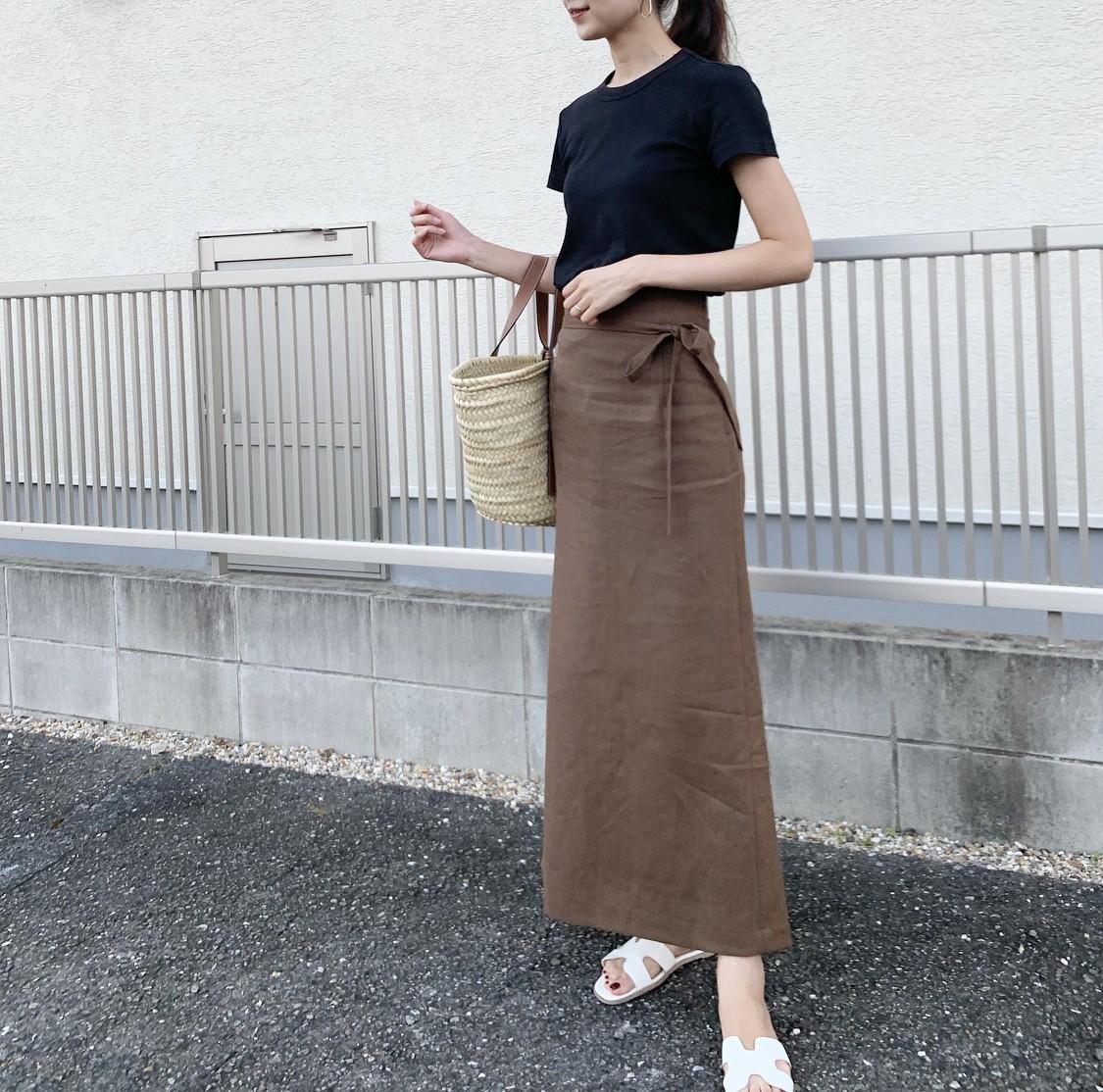 【BAILA9月号】黒Tシャツでシフトチェンジ_1