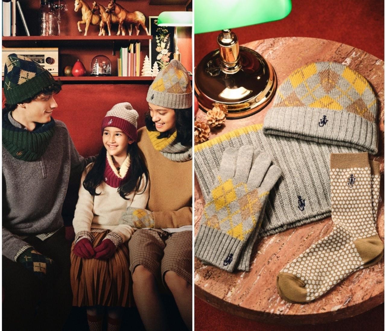 【ユニクロ(UNIQLO)× JW アンダーソンのクリスマスコラボ新登場】ヒートテックあったかニット小物がそろう初のホリデーコレクションが発売決定