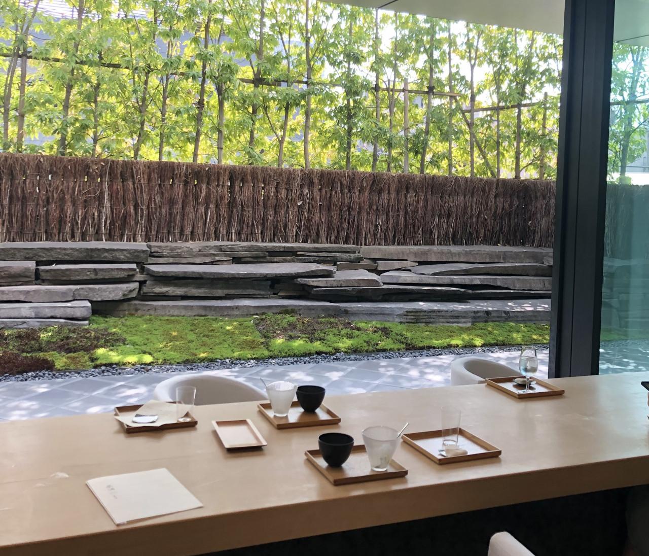 【和カフェ】庭園を眺めながら和スイーツ堪能