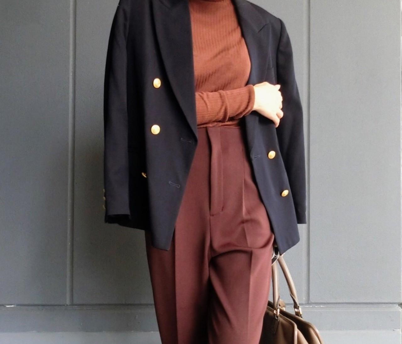 【今月の4ケタ買い】ベイクドカラーパンツでほぼブラウンコーデ♡