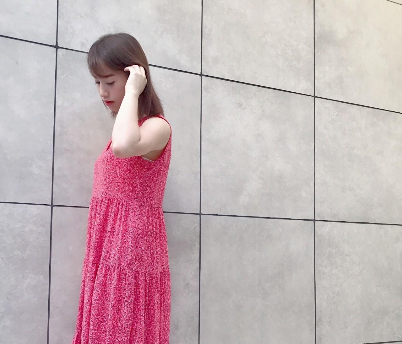 UNIQLOコスパ可愛いワンピ♡BAILA7月号コーデ