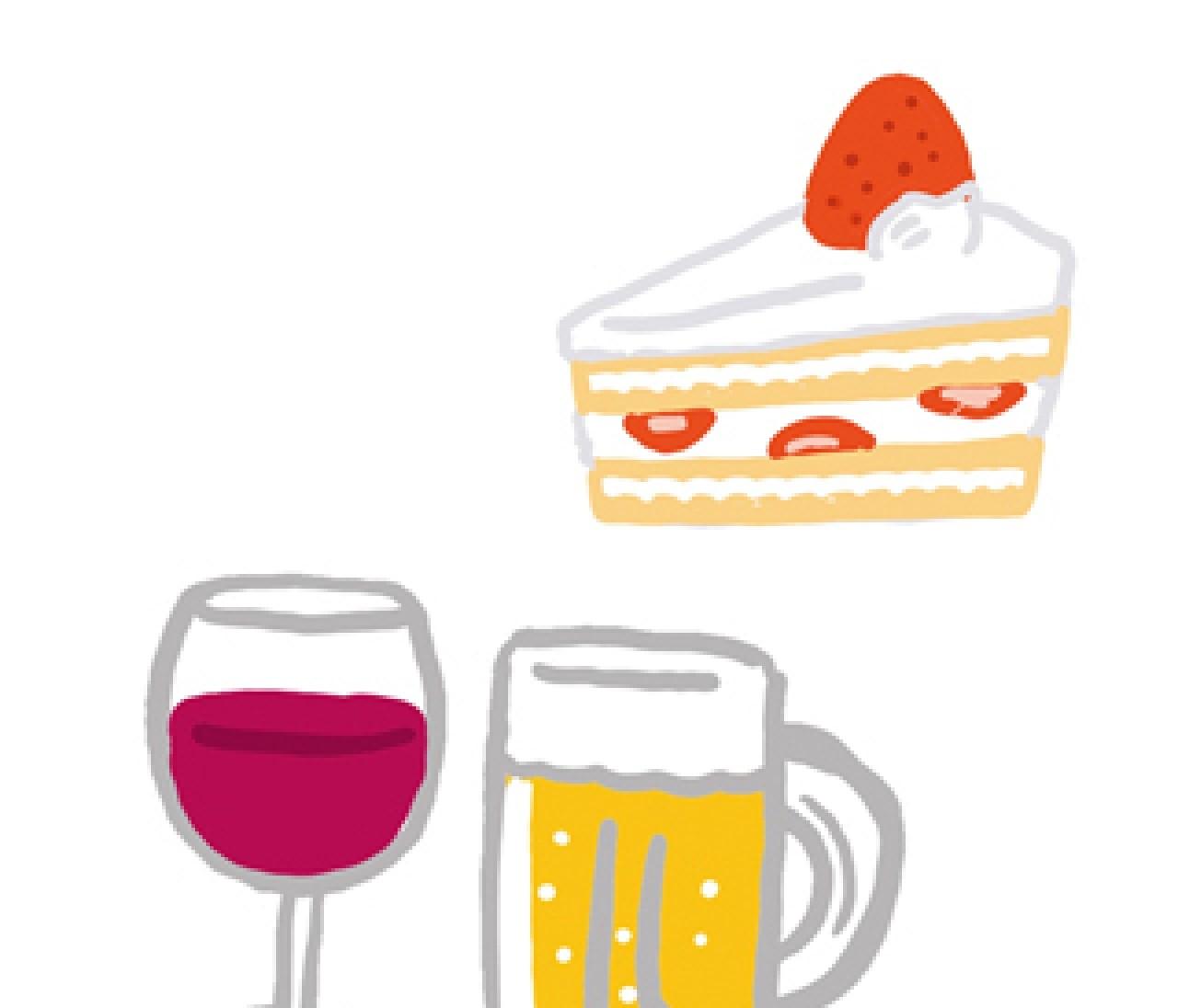 """ダイエット中、スイーツやお酒を""""食べすぎ・飲みすぎ""""ないためには?"""