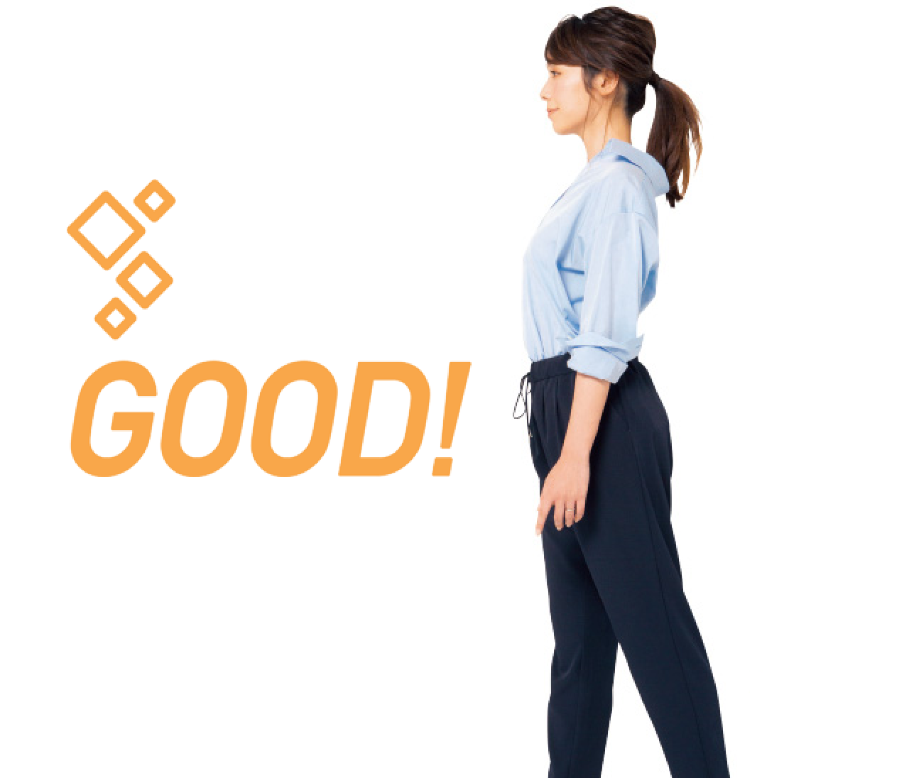 歩き方でスタイルが劇的に変化する!【姿勢で-2kgヤセ見え⑦】