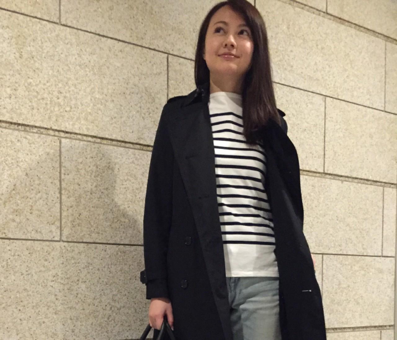 【#ときめきトレンチ #OOTD】石井恵梨子さん