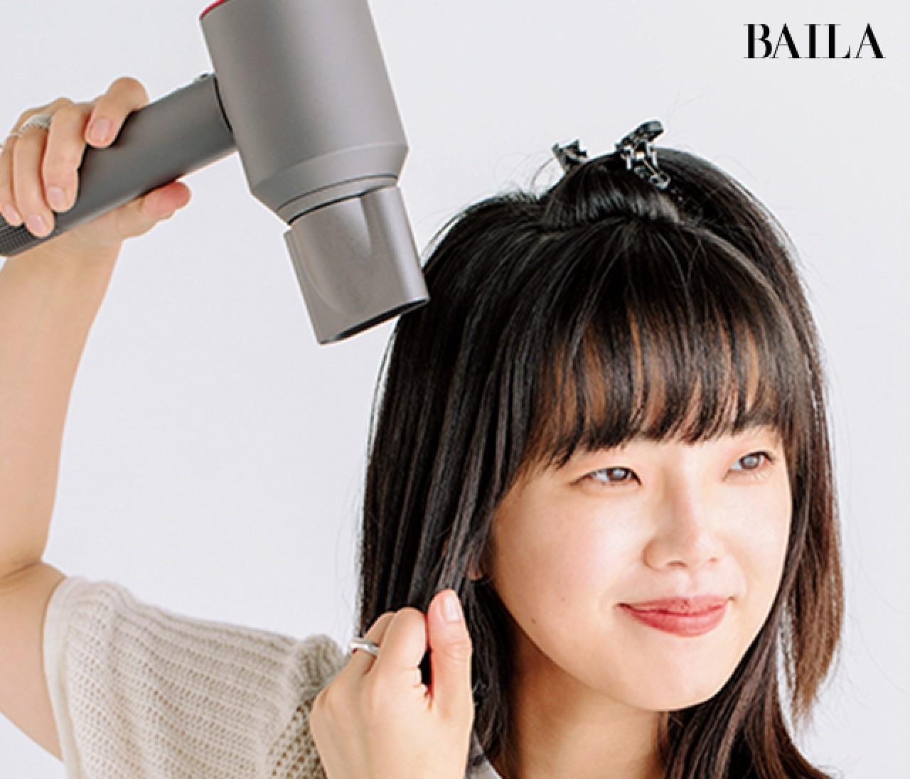 髪にいい感じのボリュームがほしい! 【ボリュームヘア】がつくれるテクニック