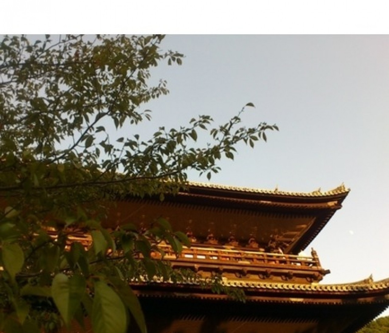 夕暮れの南禅寺