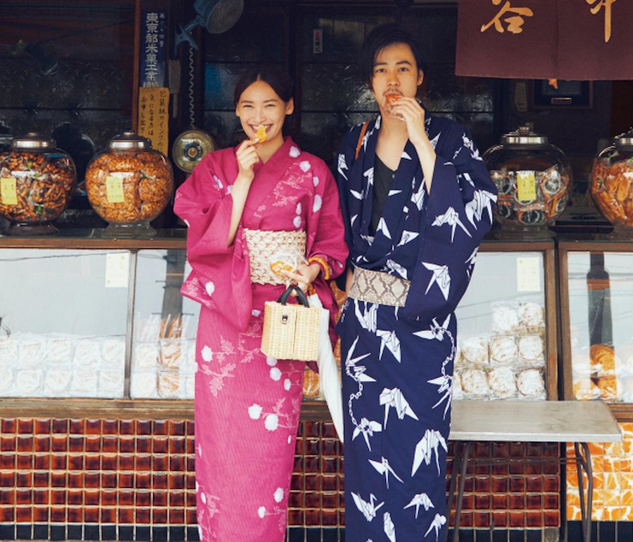大政 絢&成田 凌がナビゲート♡ 大人の【麗し浴衣】選び、3つのルール