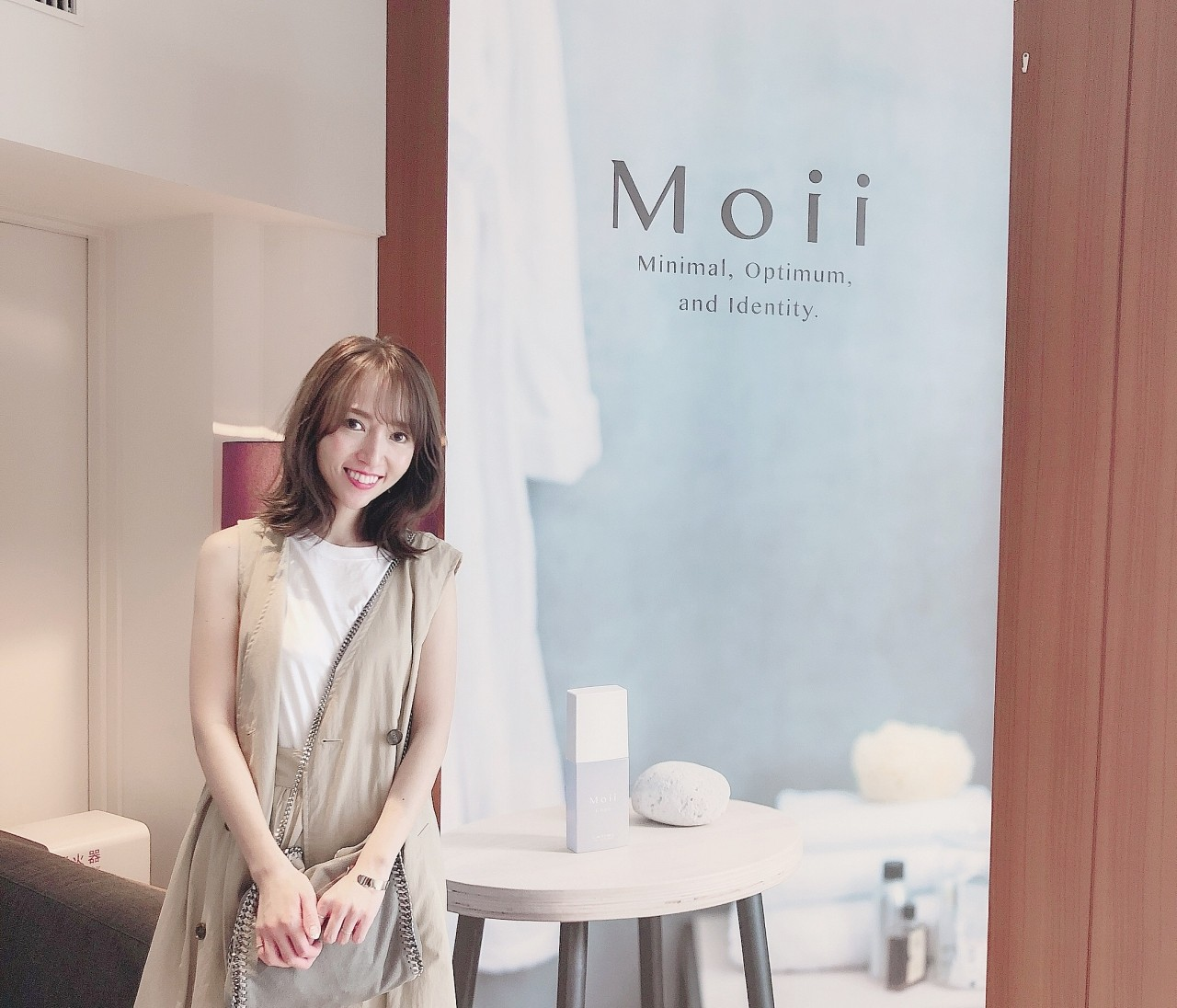 【Moii カフェ 新商品イベント】