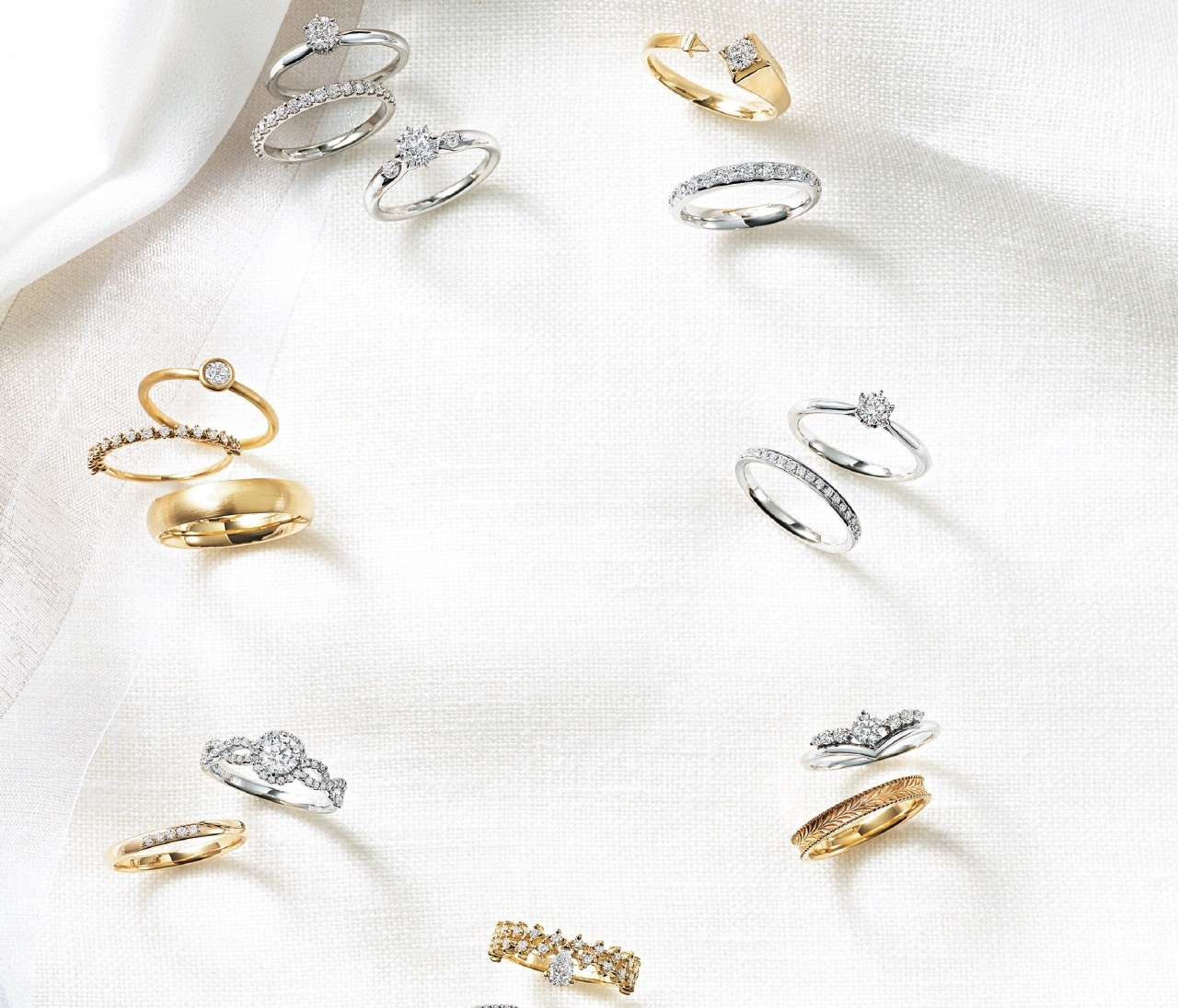 【結婚指輪&婚約指輪】スタージュエリー、ヴァンドーム青山、エテ...おすすめリング16選!
