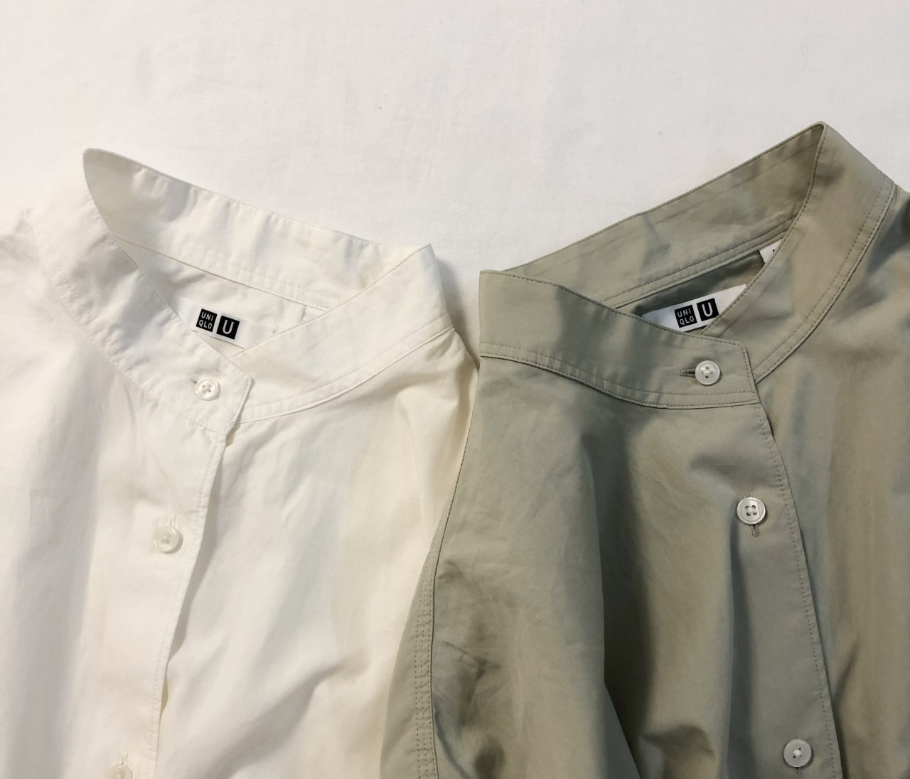 【UNIQLO U】新作オーバーシャツで作る淡色コーデ。