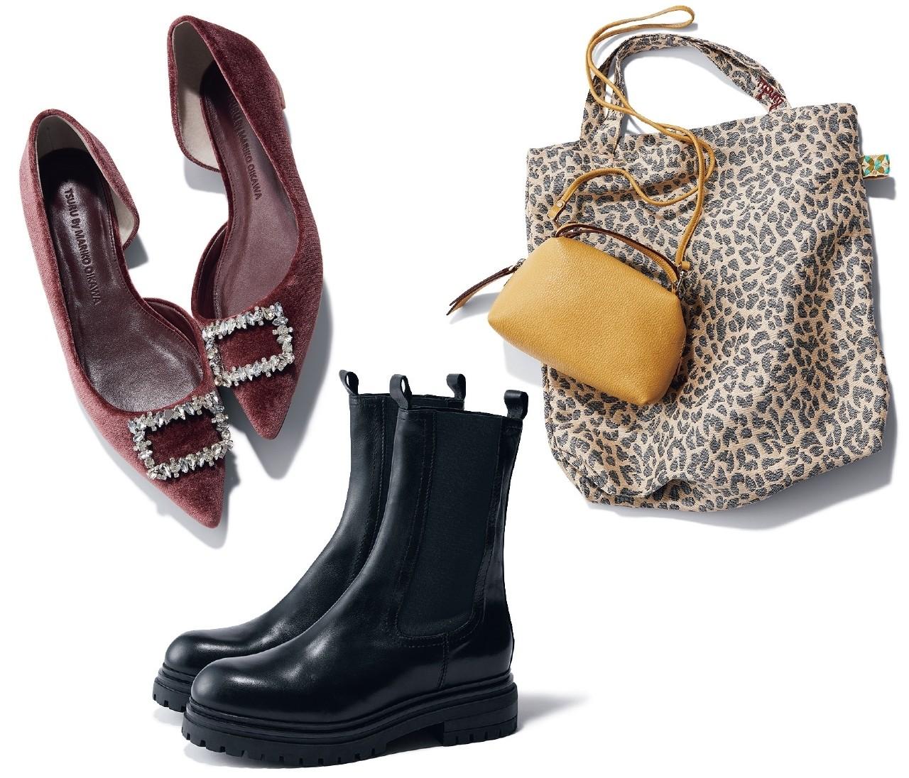 【秋の新作バッグ&靴】働く女性が使いやすいバッグ&靴をスタイリストがチョイス!