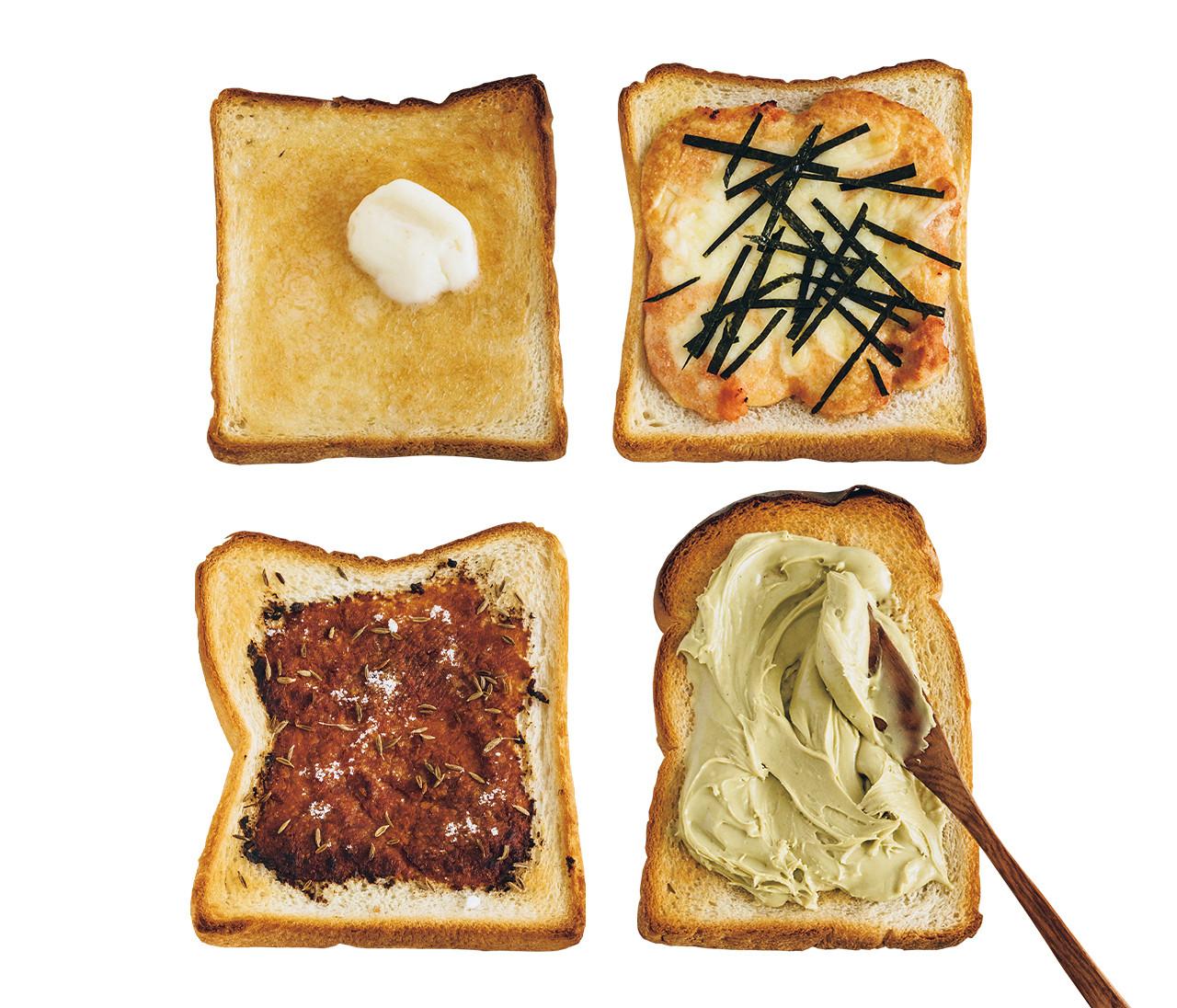 桐谷美玲さん、印度カリー子さん…パンラバーの食パンアレンジ【あの人が、パンにのせているもの3】