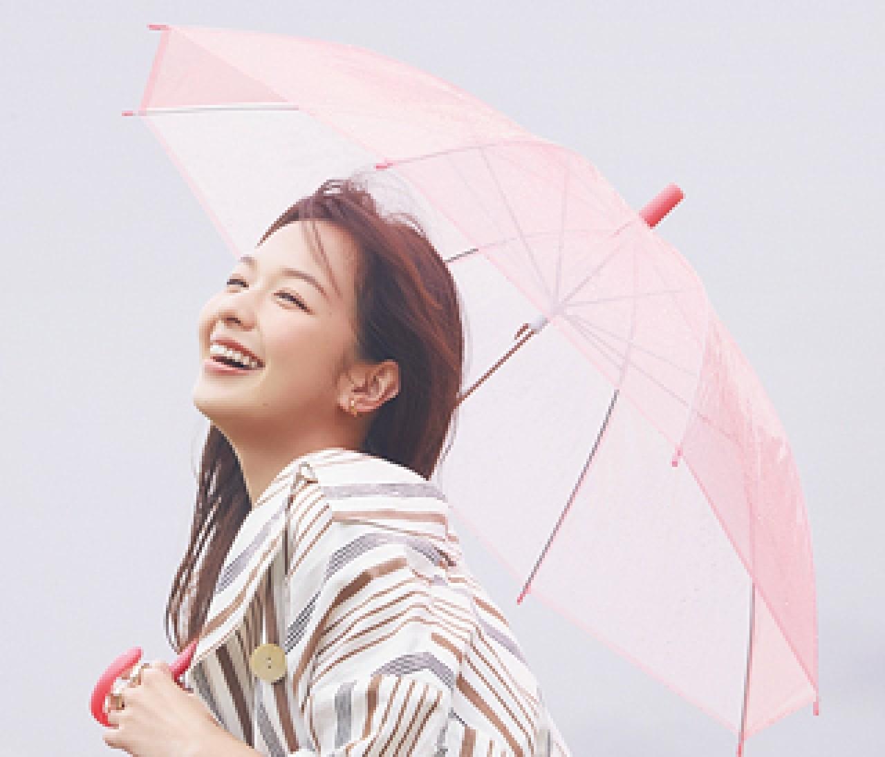 """【湿度に負けないきれいの秘訣】中野明海さんが教える""""雨映え""""ヘア&メイク"""