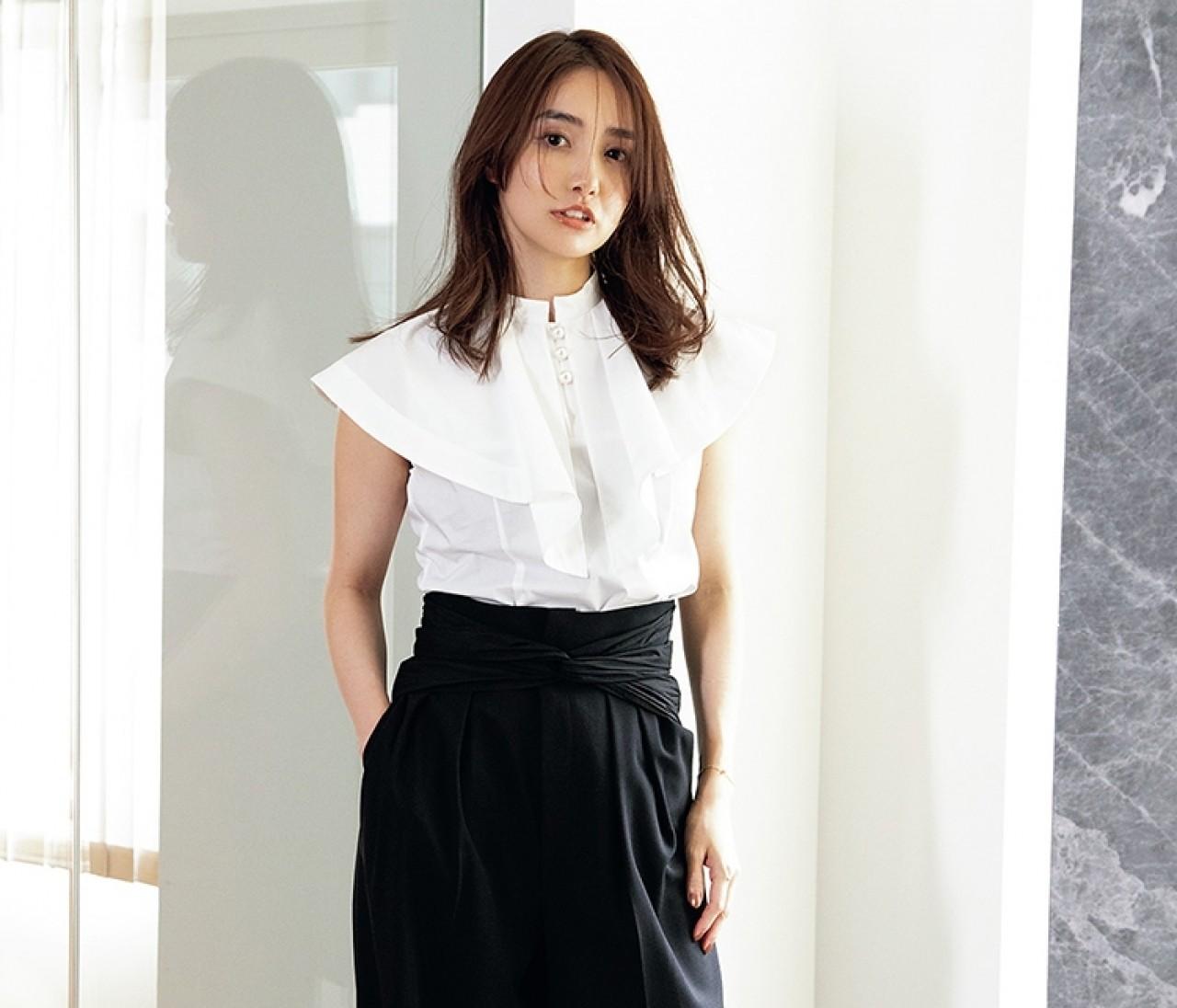 FRAY I.D(フレイ アイディー)プレス、三谷麗子さんの夏スタイルを徹底ルポ。おしゃれ上手のリアルなお手本!