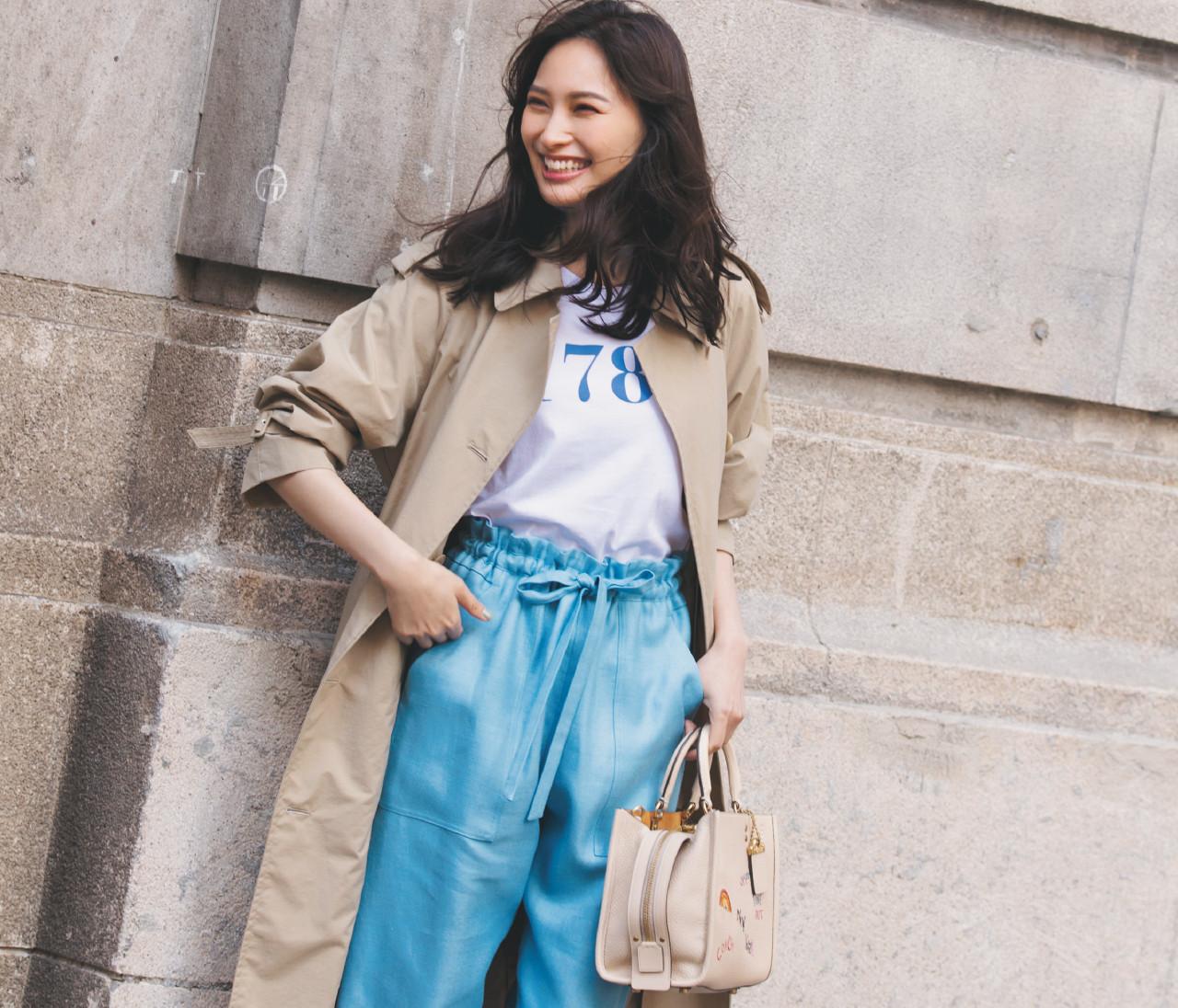 【2021春トレンド】推し色はブルー!大人の女性はどう着こなす?