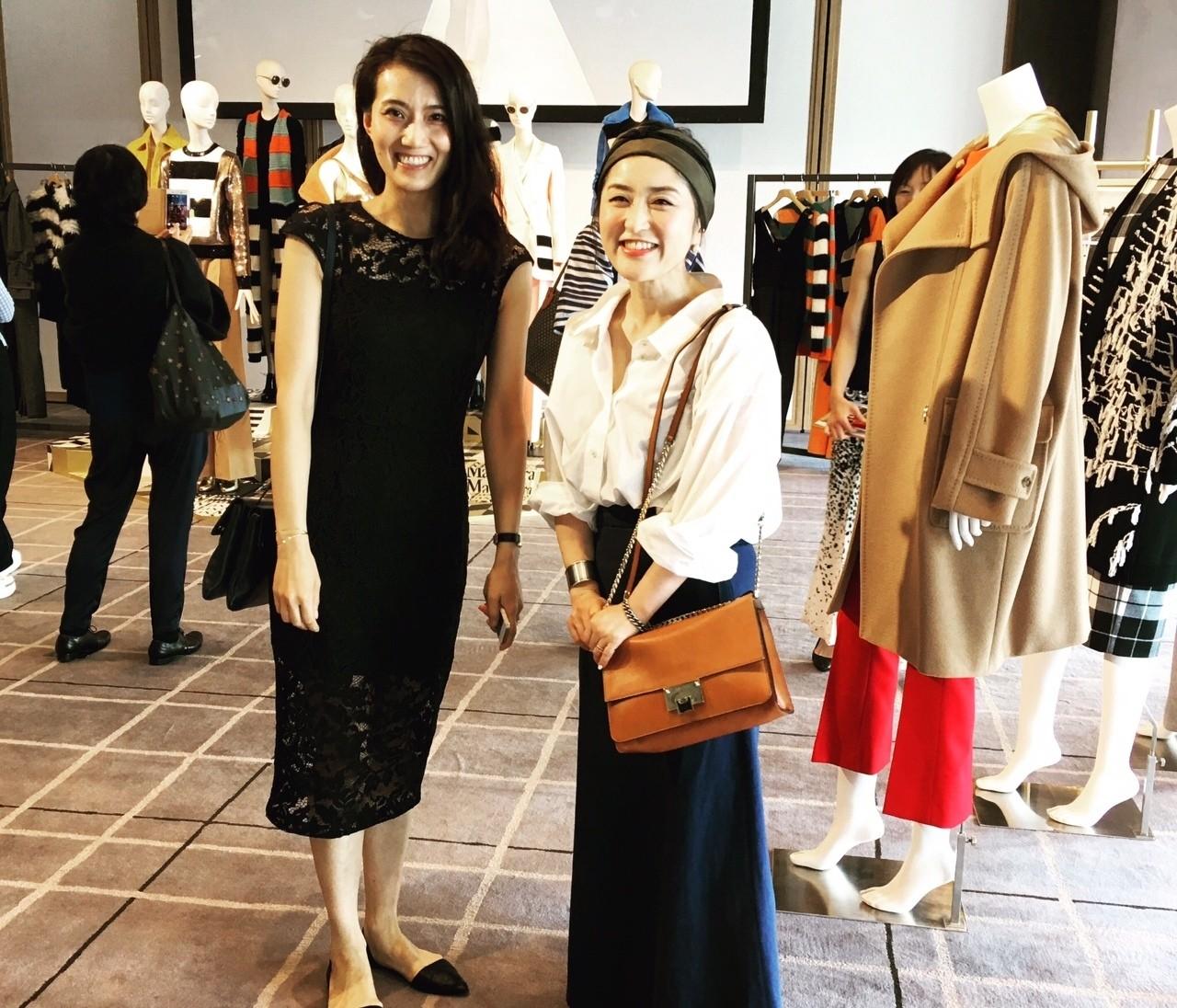 【#OOTD】スタイリスト室井さん、ライター坪田さんの展示会めぐりコーデ♪