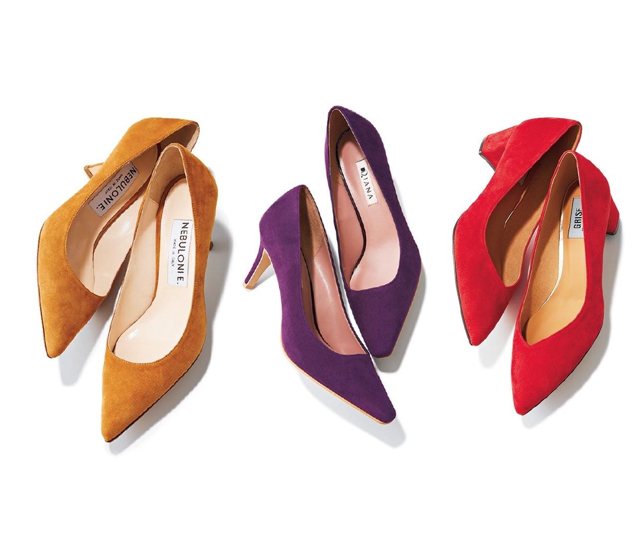 【カラーパンプス】秋ファッションになじむ「こっくり色」パンプス7選