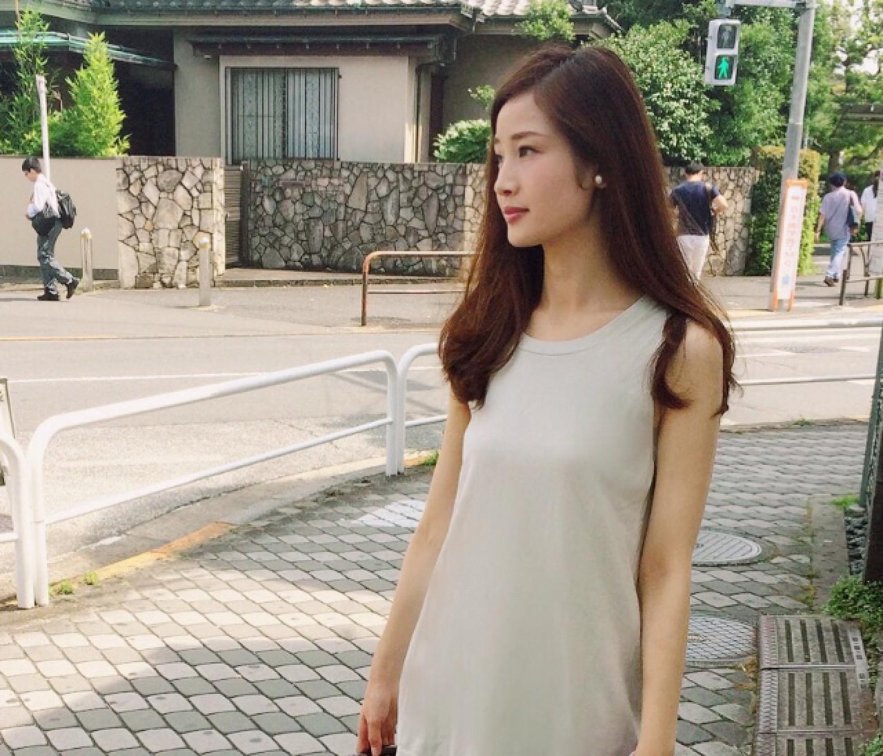 【スナップ】アースカラーで完成★ 真夏の女っぽカジュアル