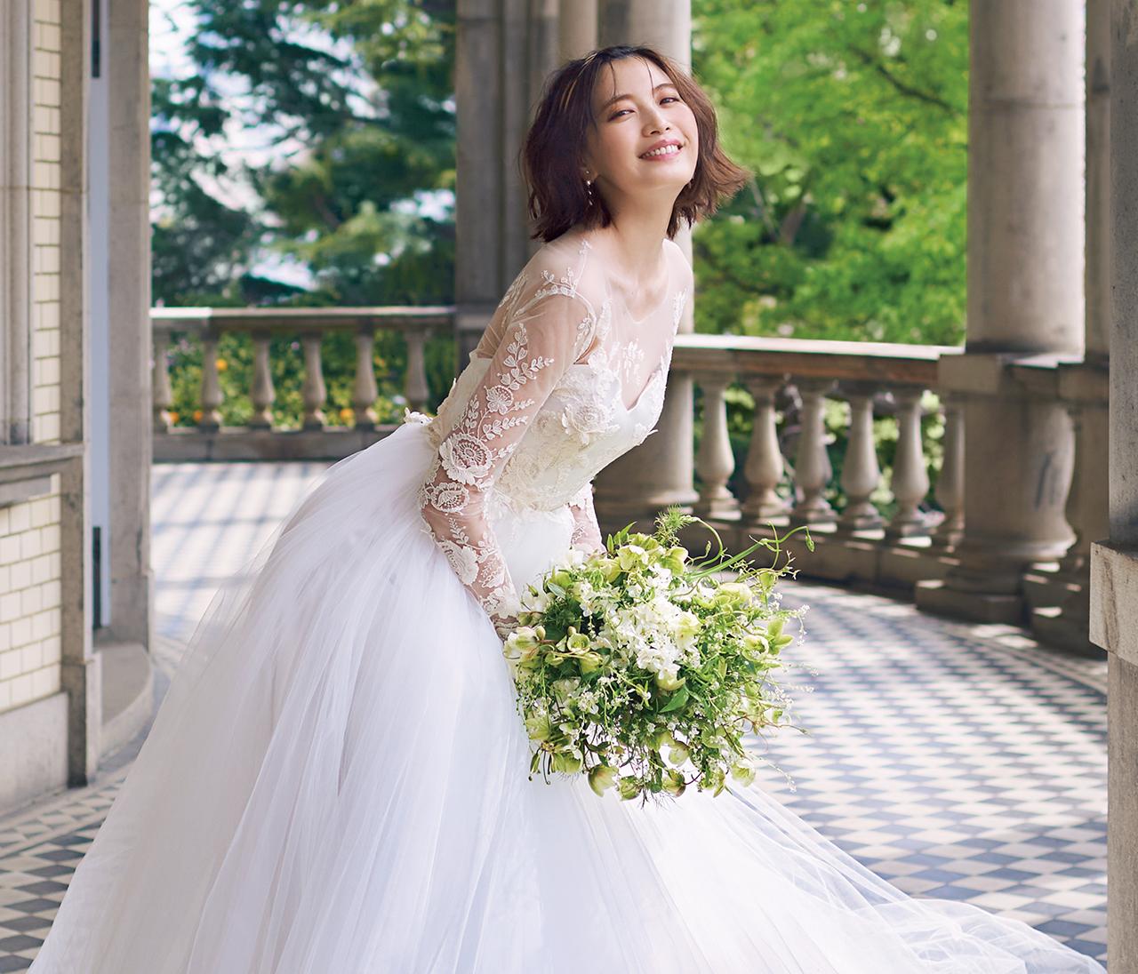 30代花嫁がもっと輝く!スタイリスト 室井由美子さんPresents 【ノバレーゼ10のウエディングドレス VOL. 3】
