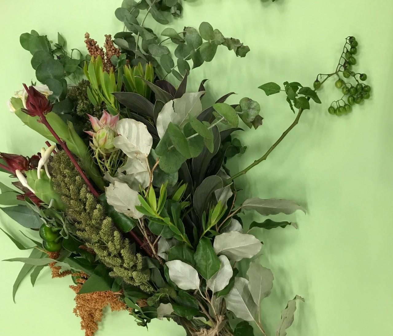「終日フラワー」のお花が最高にしゃれている!
