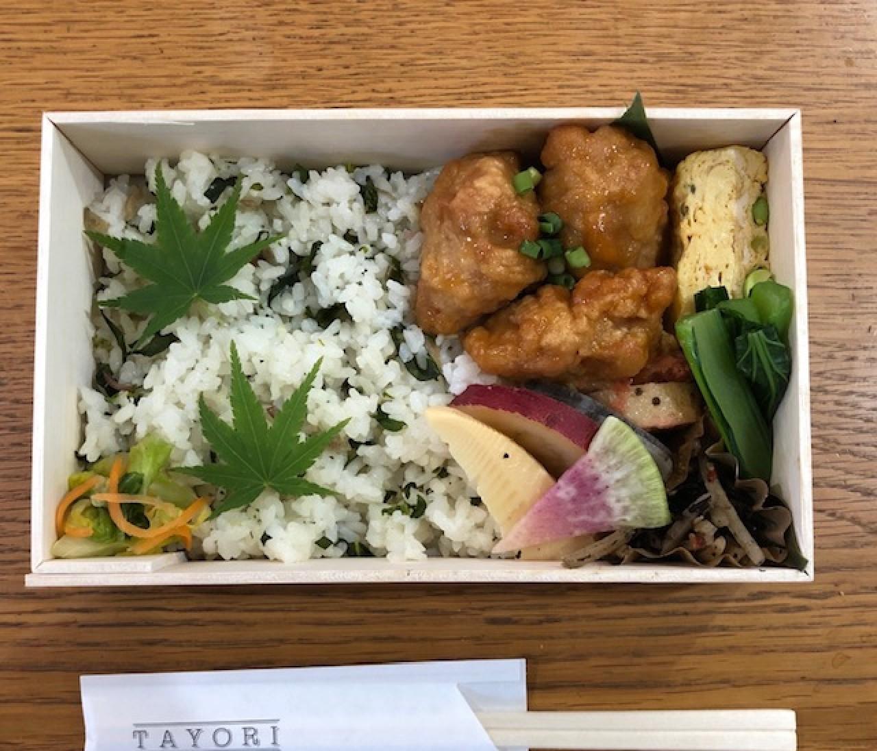 【エディターのおうち私物#2】在宅ワークで頼りになる♡谷中「TAYORI」のお弁当