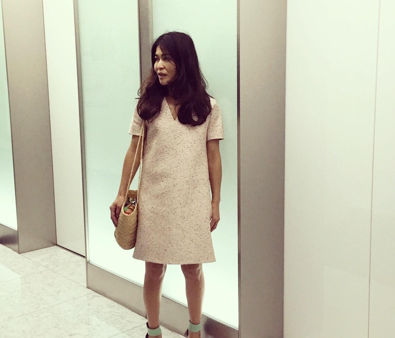 【#OOTD】スタイリスト辻直子さんがBAILA編集部に☆着ていたのは……?