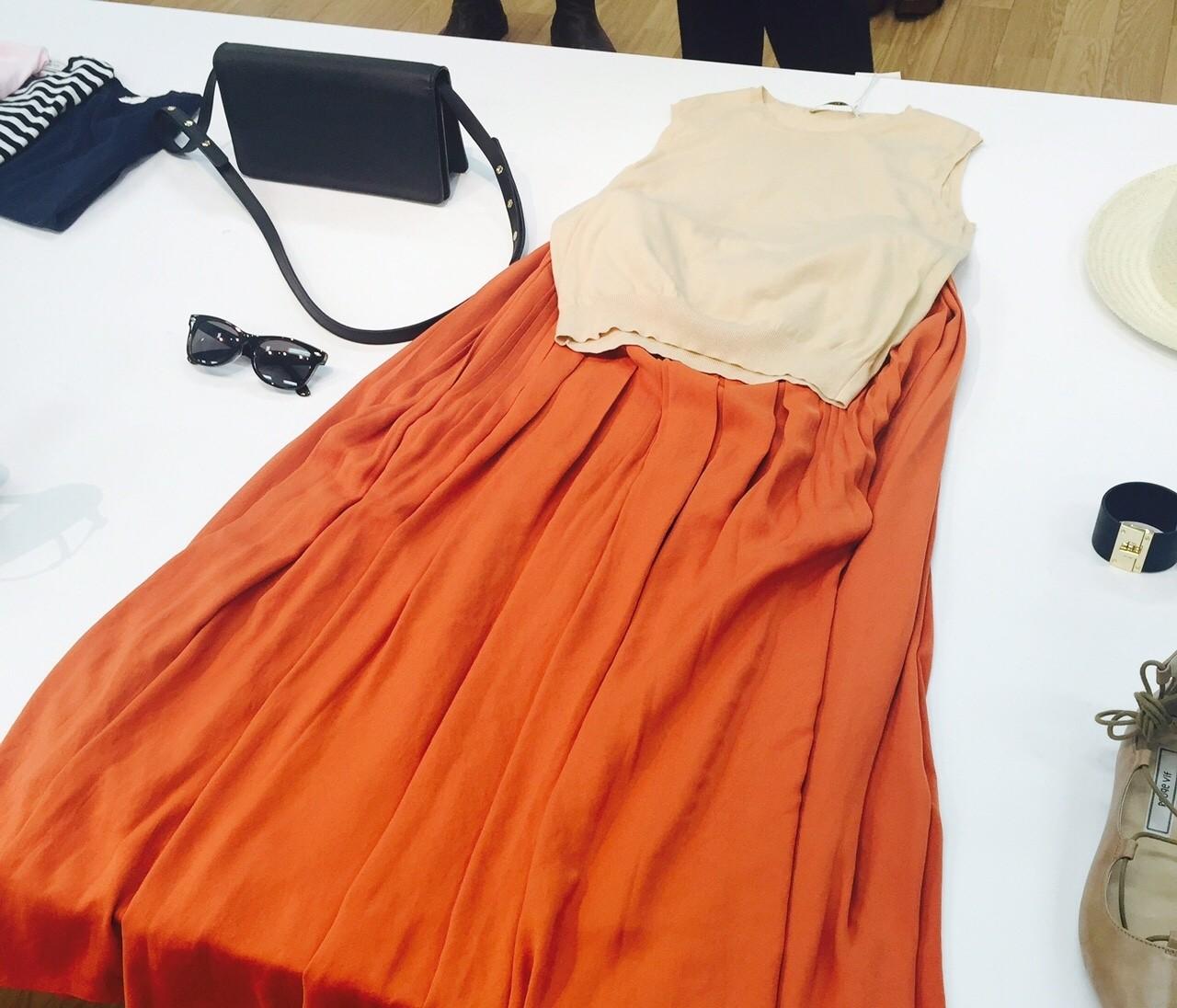 【展示会】女っぷりUP間違いなし!揺れる「ロングスカート」が新鮮☆