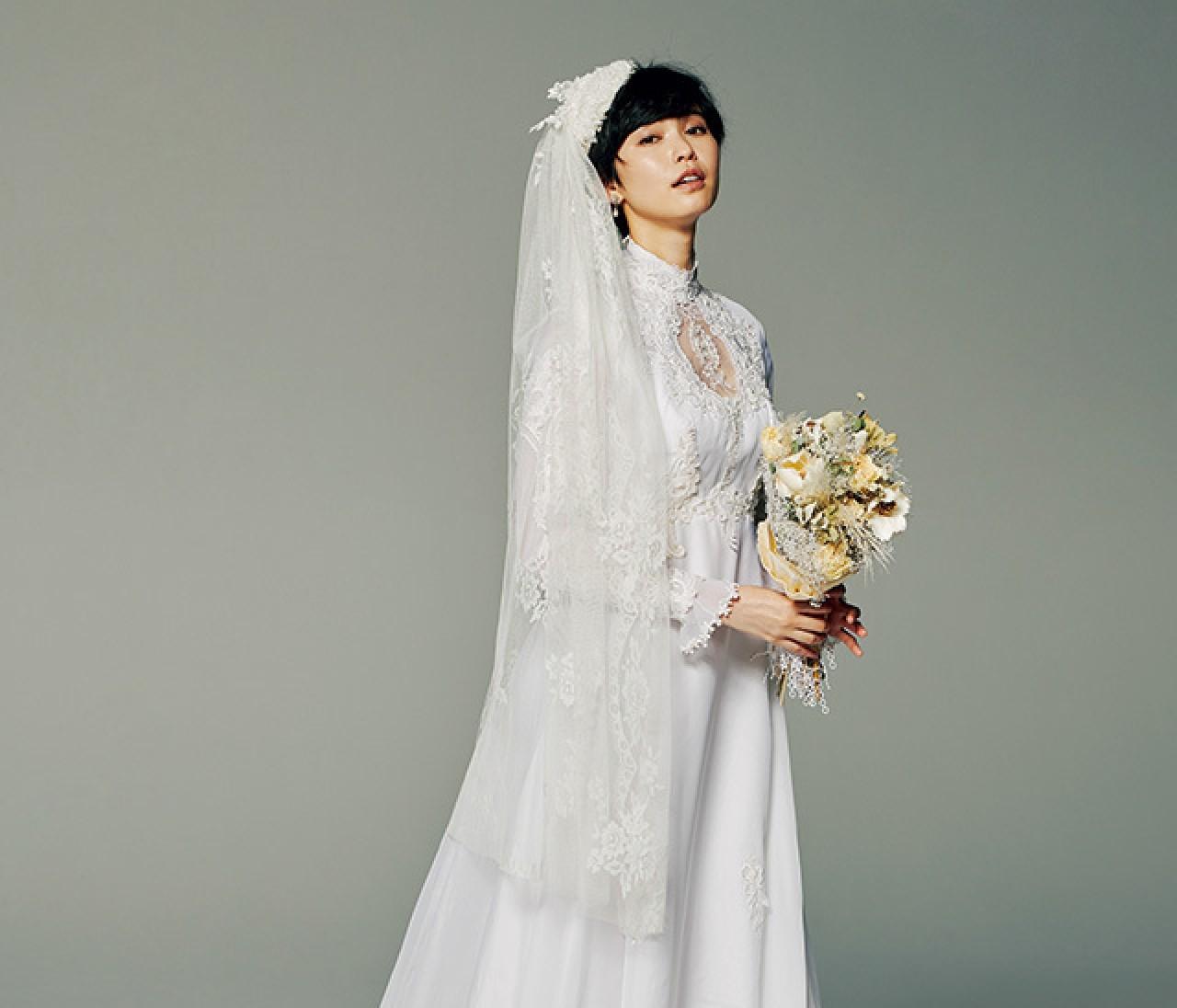 ヴィンテージ感のあるラスティックドレス【普段の自分から選ぶドレス 4】