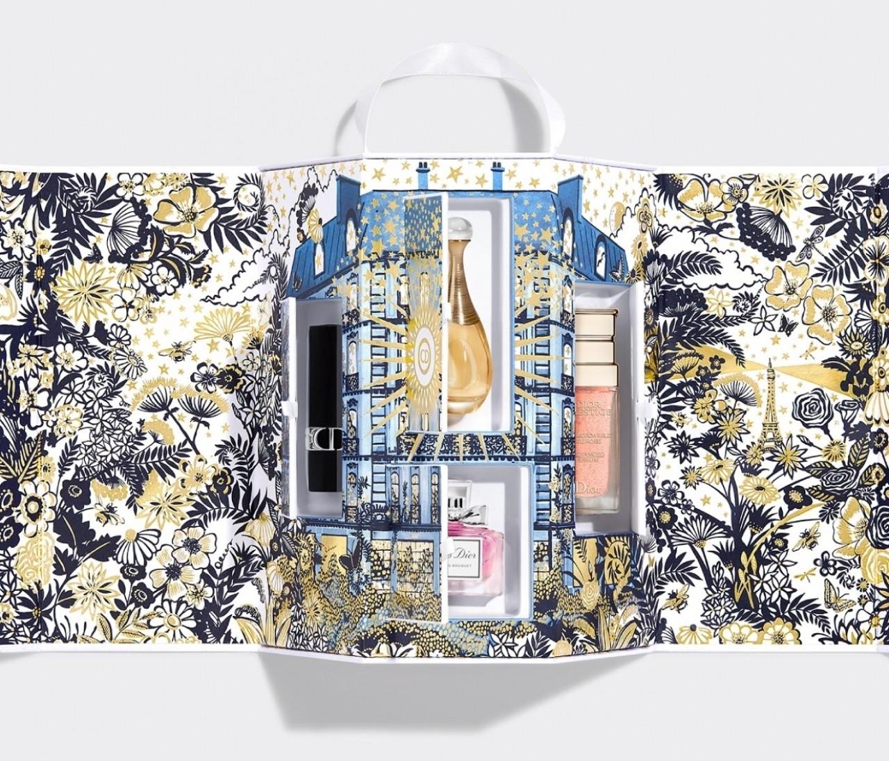 【 Dior(ディオール)ホリデー限定コフレ】香水やメイクアップのアイコン製品がたっぷり!
