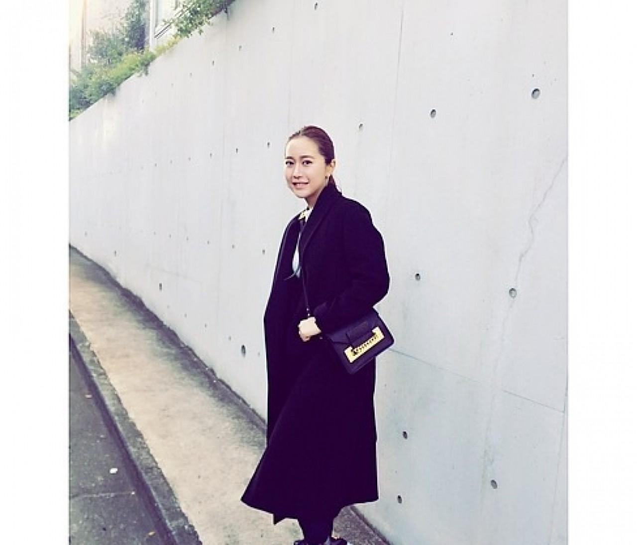 ♦︎Fashion♦︎Black long coat