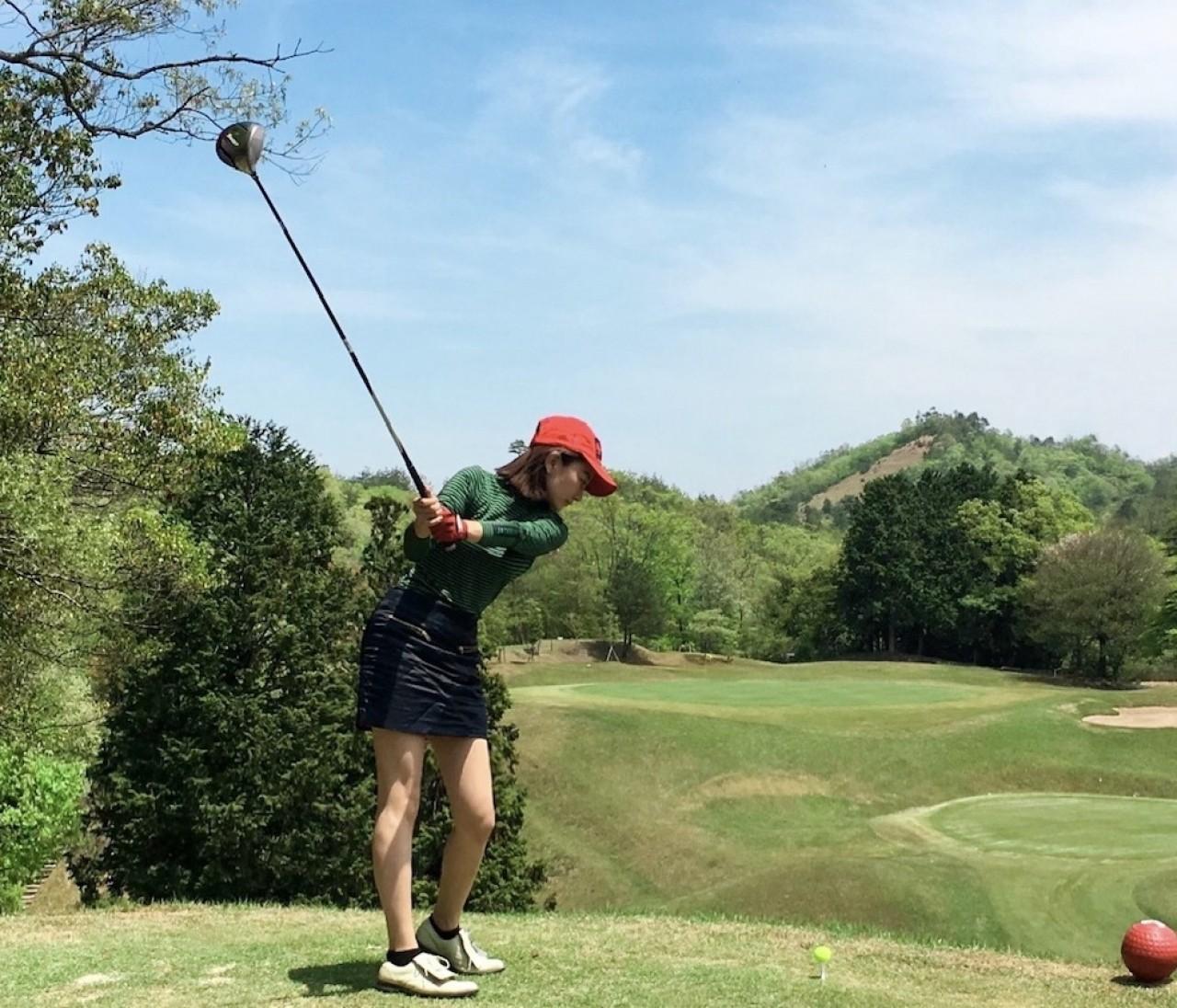 牧場でゴルフ〈ラウンドコーデ〉