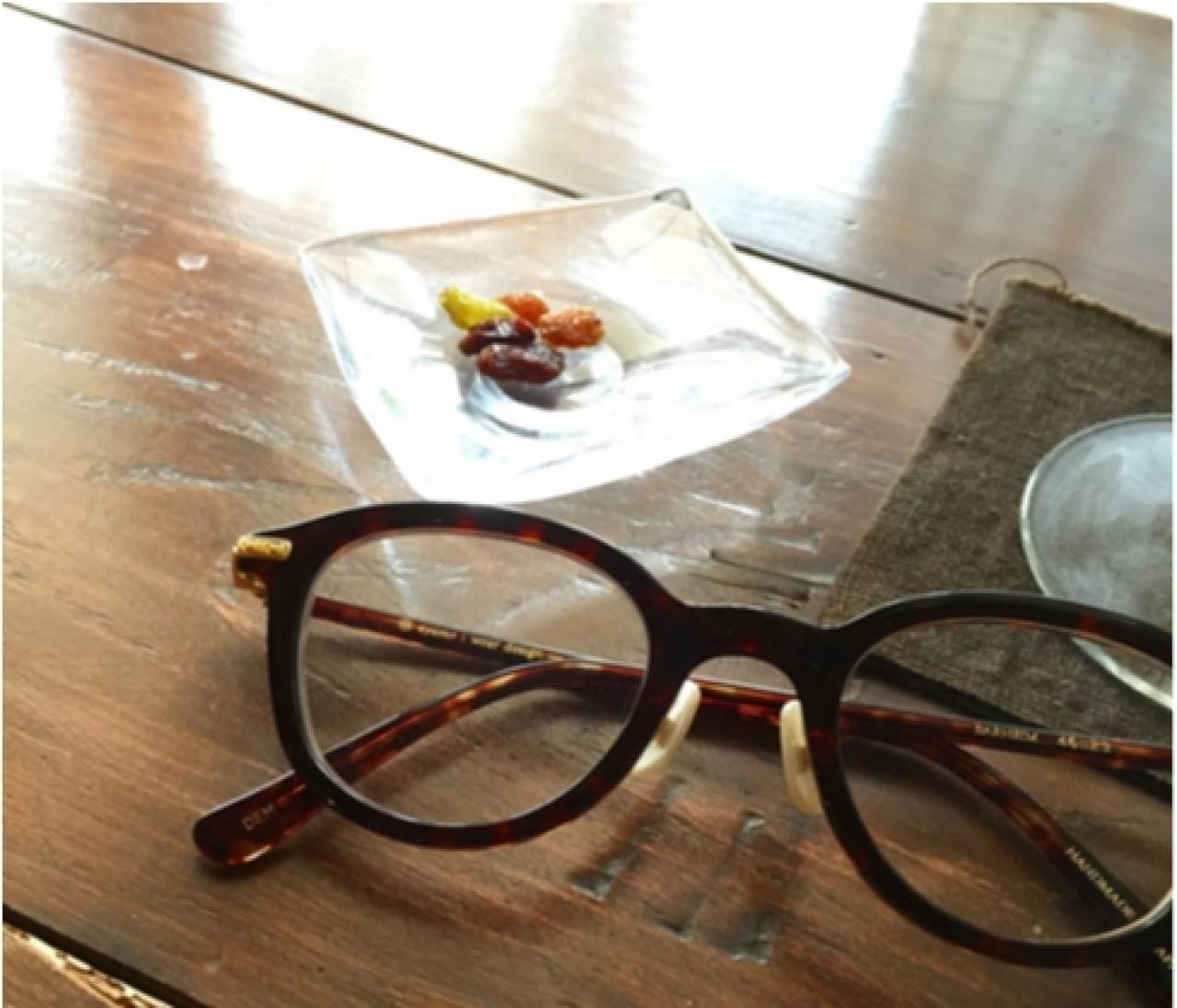 最近のお気に入り眼鏡はちょっぴり丸め