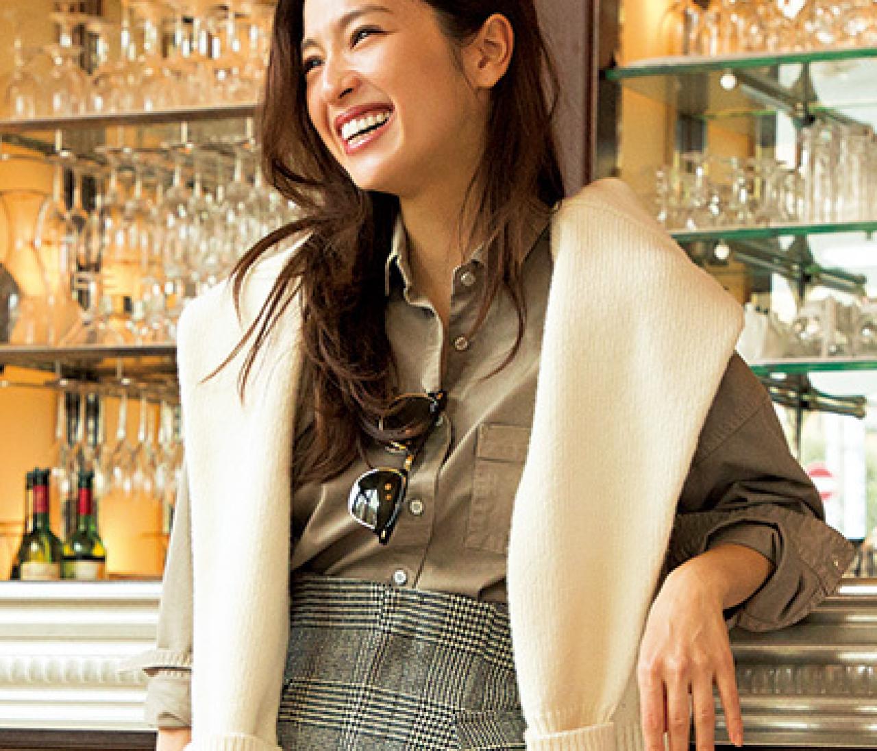 冬のベストトレンド大賞【チェックタイト】を中村アンが着回し7Days
